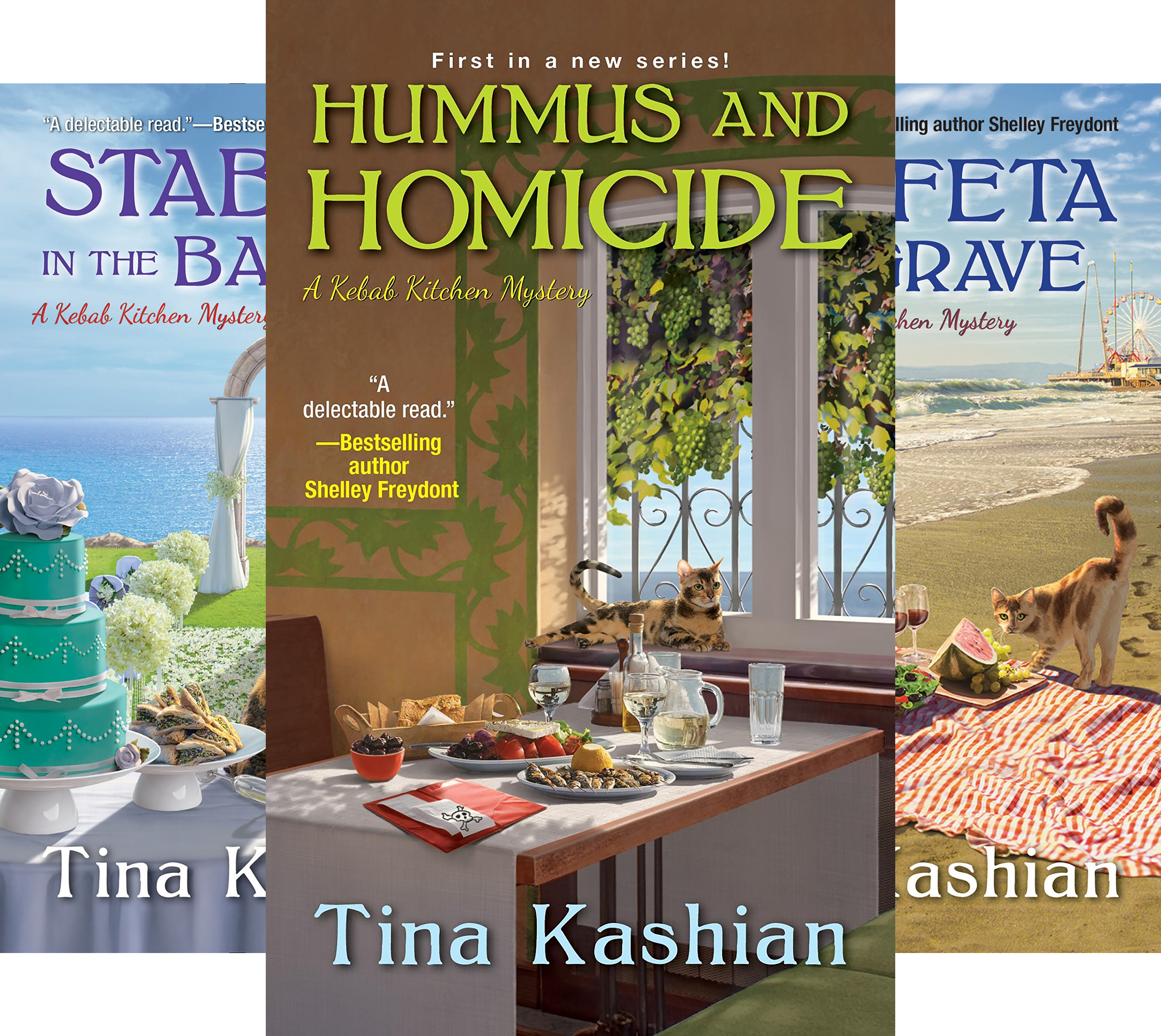 A Kebab Kitchen Mystery (3 Book Series)