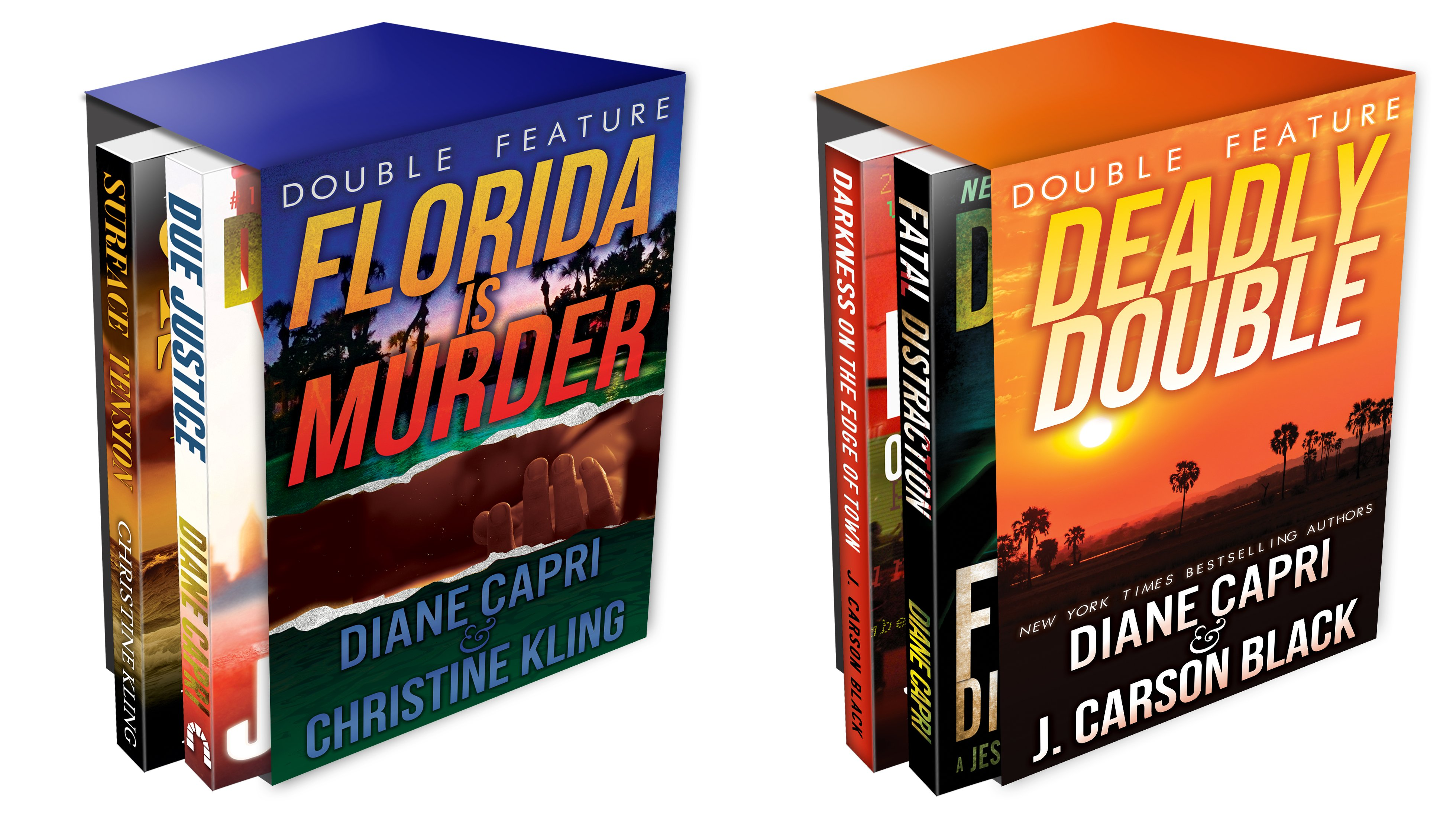 Florida Mystery Double Feature (2 Book Series)