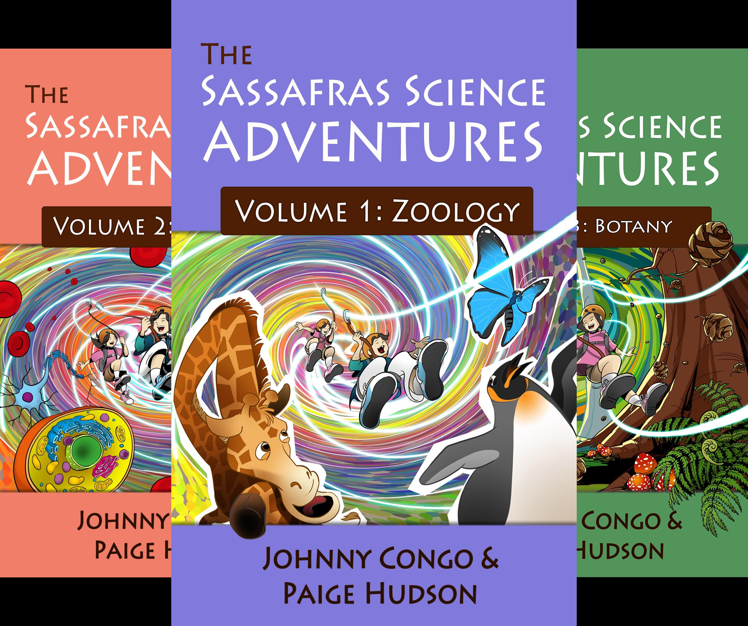 The Sassafras Science Adventures (5 Book Series)
