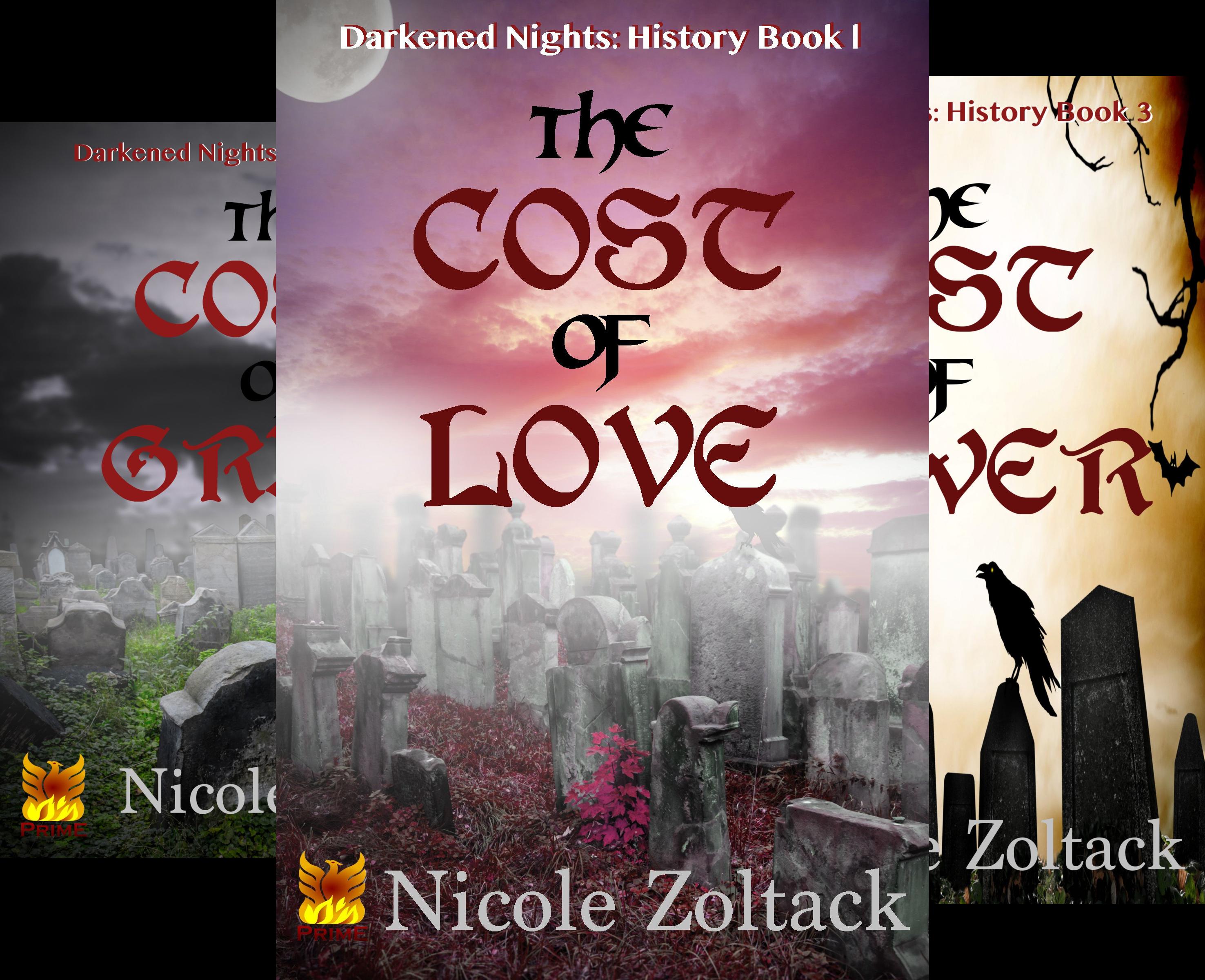 Darkened Nights: History (12 Book Series)