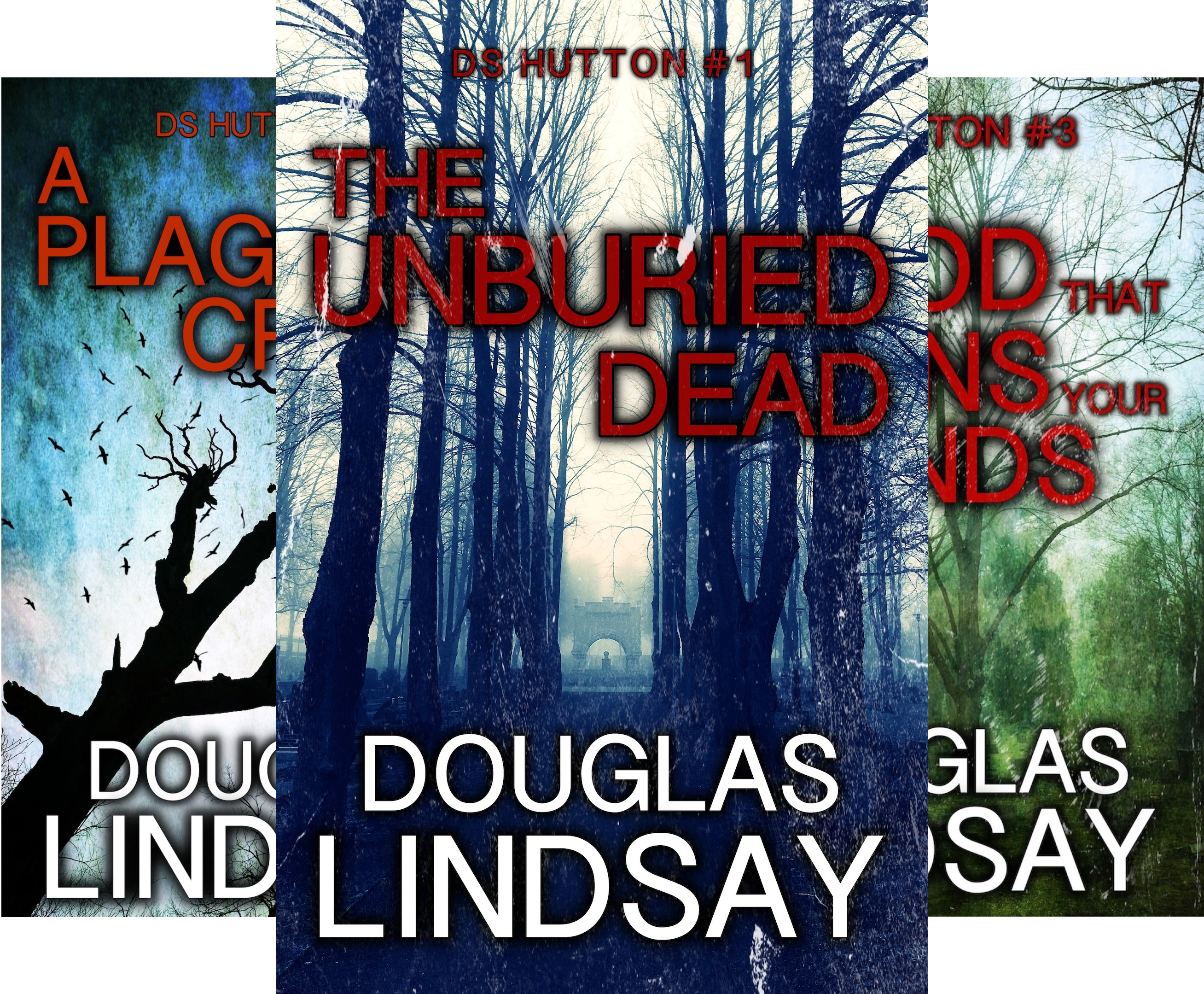 DS Hutton (3 Book Series)
