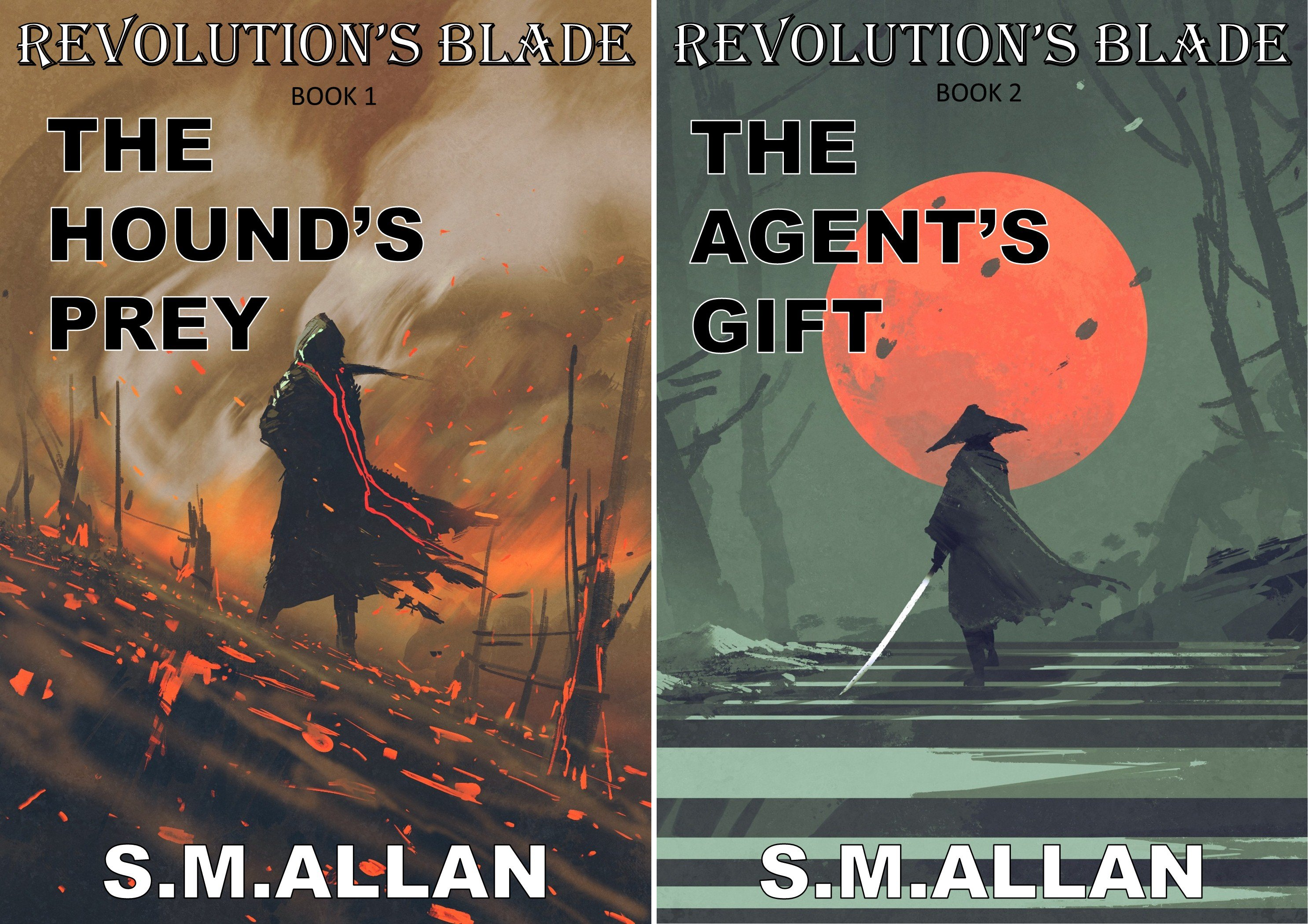 Revolution's Blade (2 Book Series)