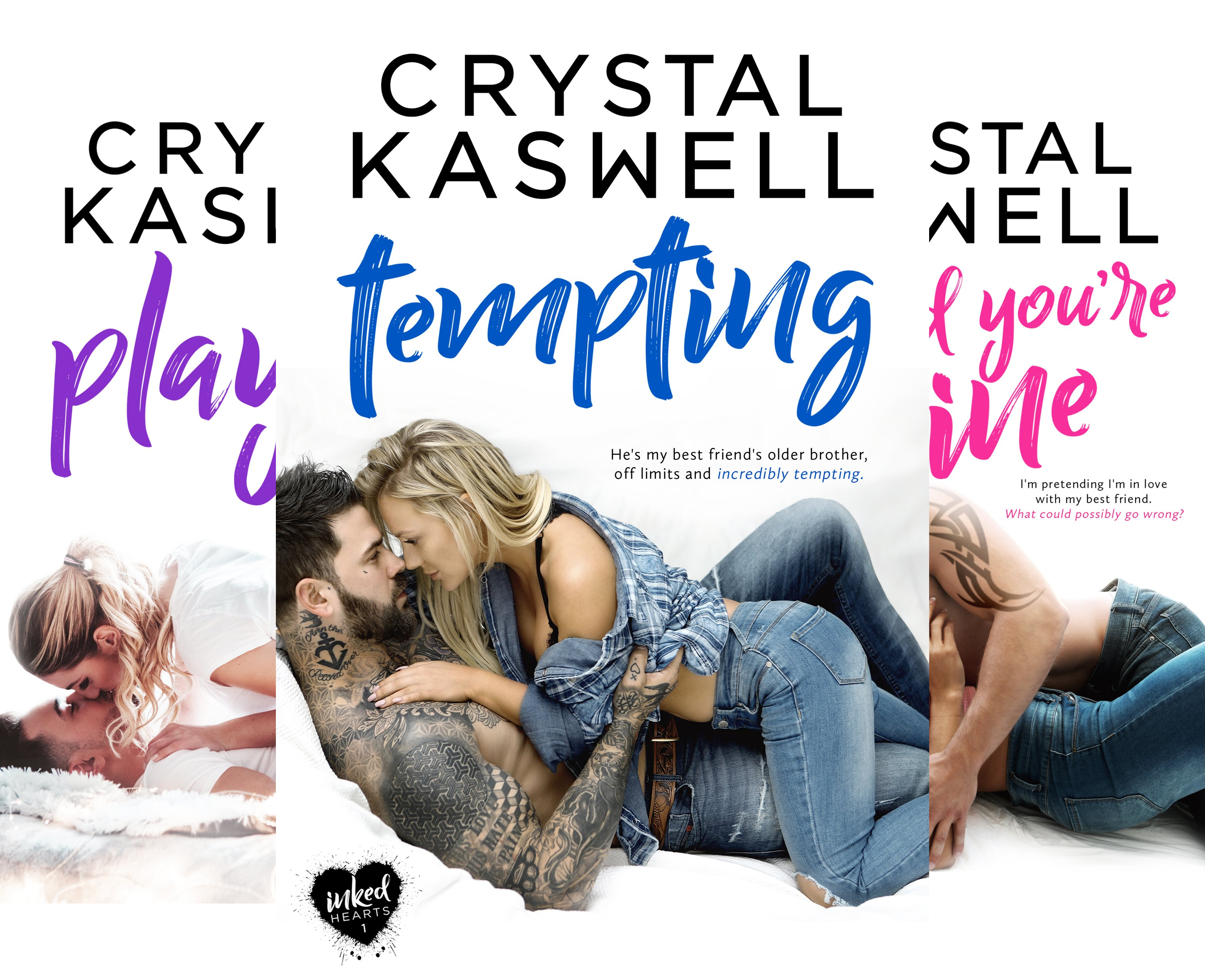 Inked Hearts - Inked Hearts (3 Book Series)