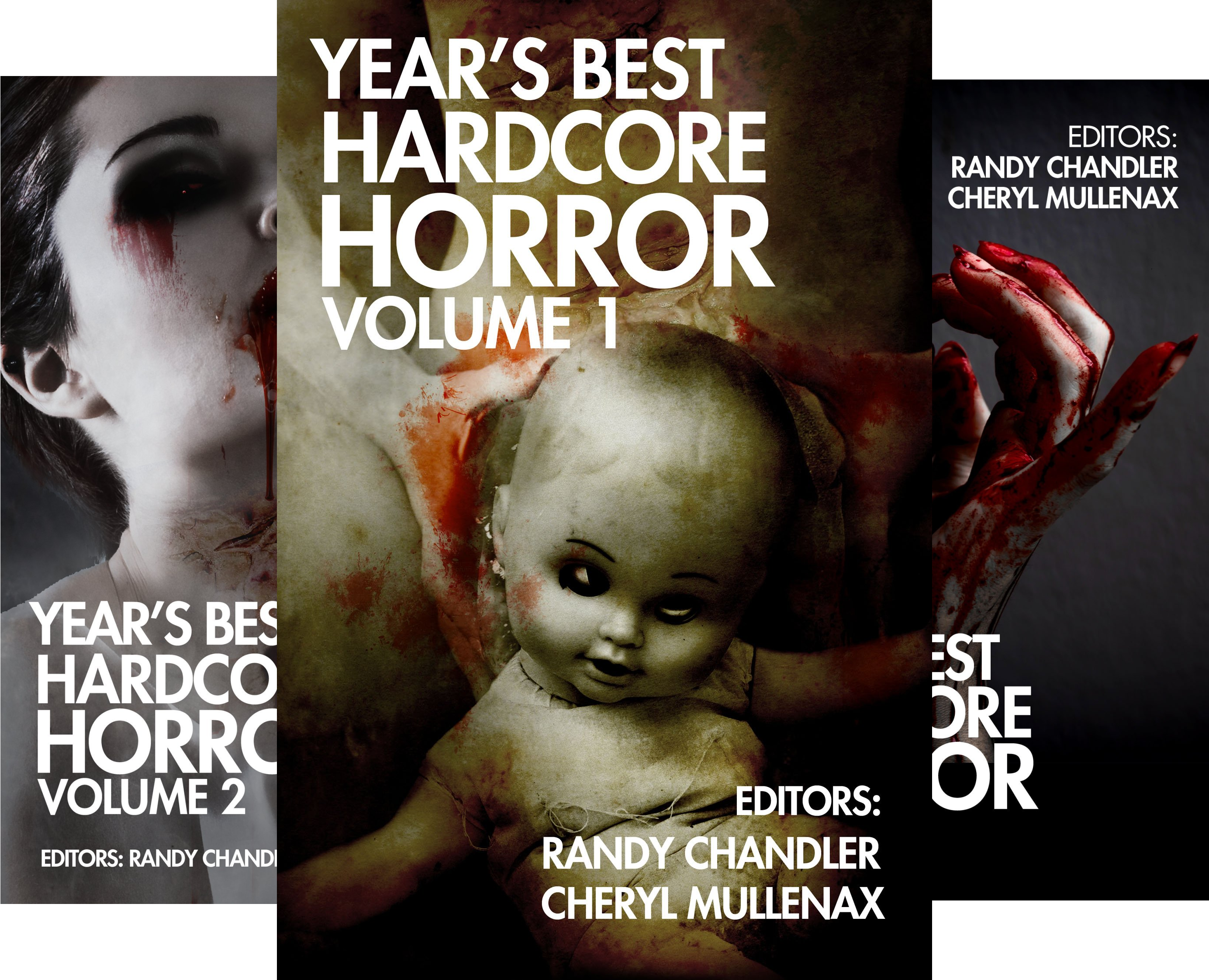 Year's Best Hardcore Horror (3 Book Series)