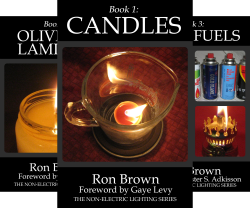 The Non-Electric Lighting Series (8 Book Series) by  Ron Brown
