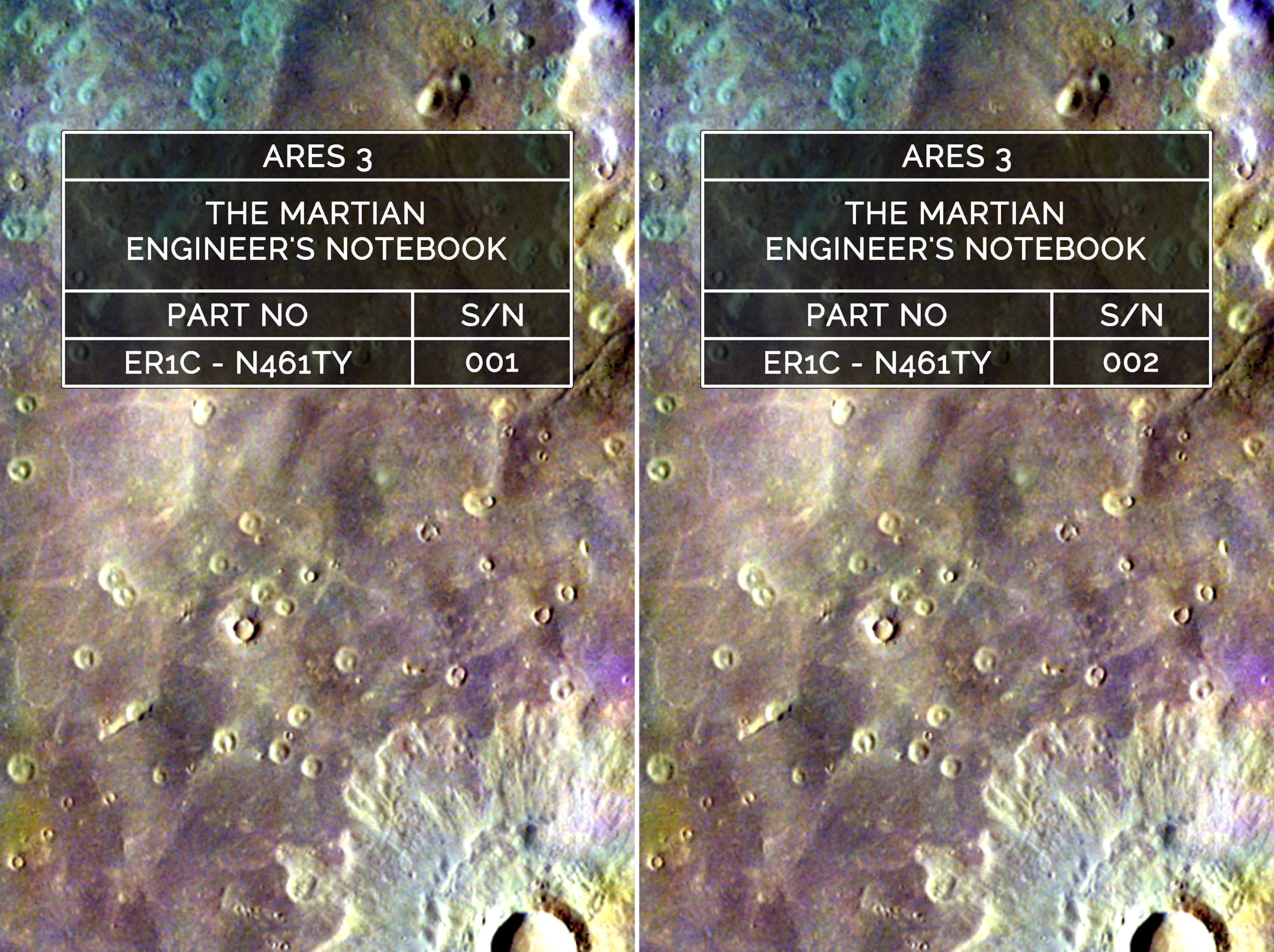 The Martian Engineer's Notebook (2 Book Series)