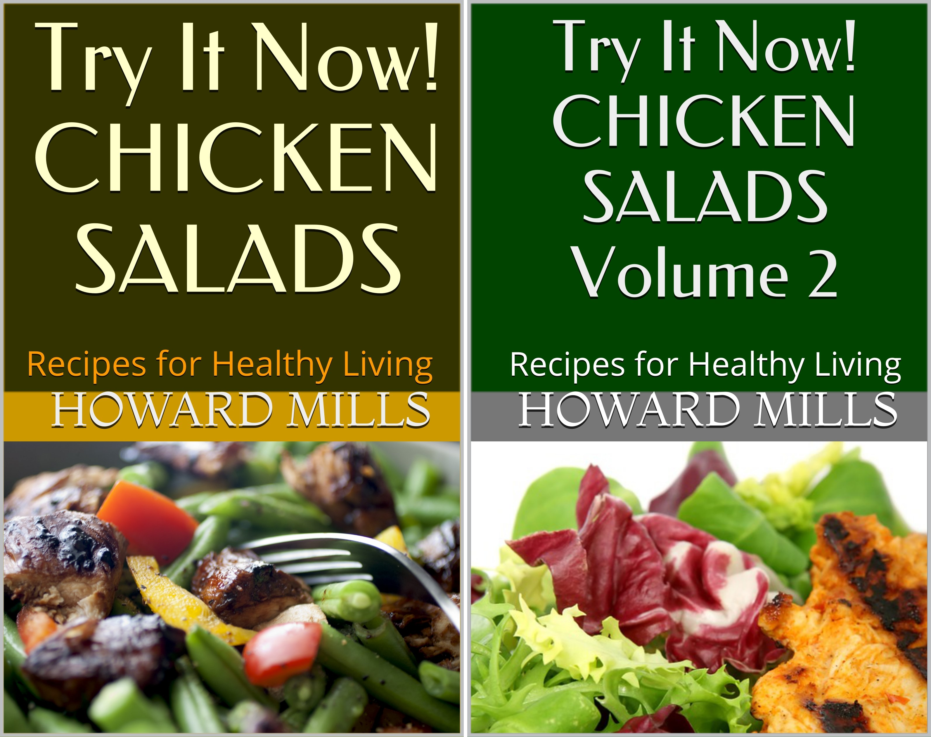 Try It Now! CHICKEN SALADS (2 Book Series)