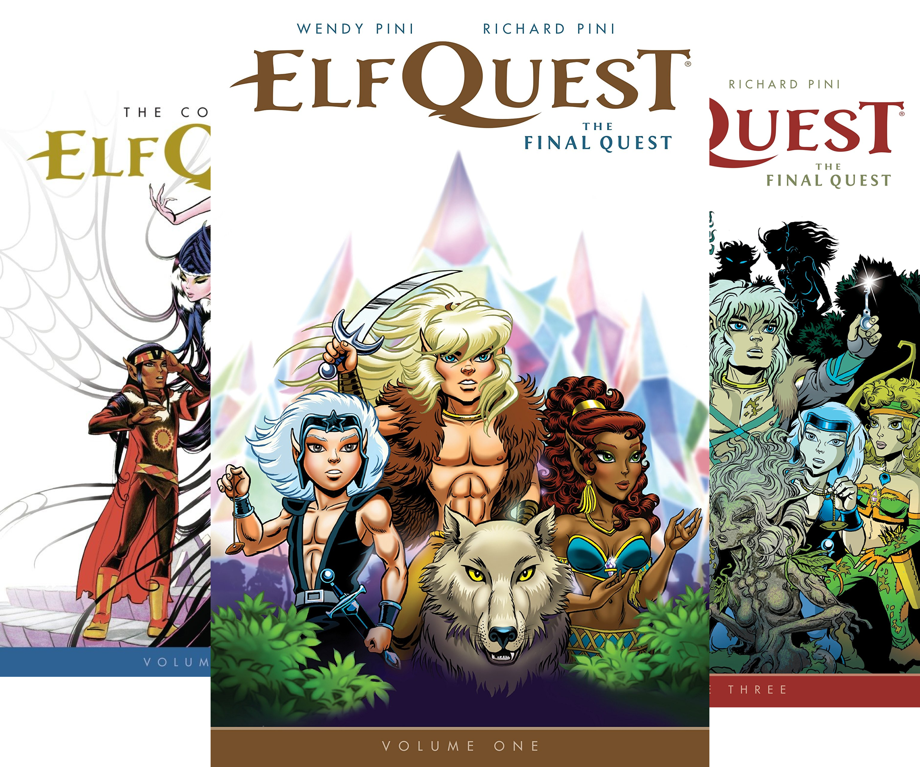 The Complete Elfquest (4 Book Series)
