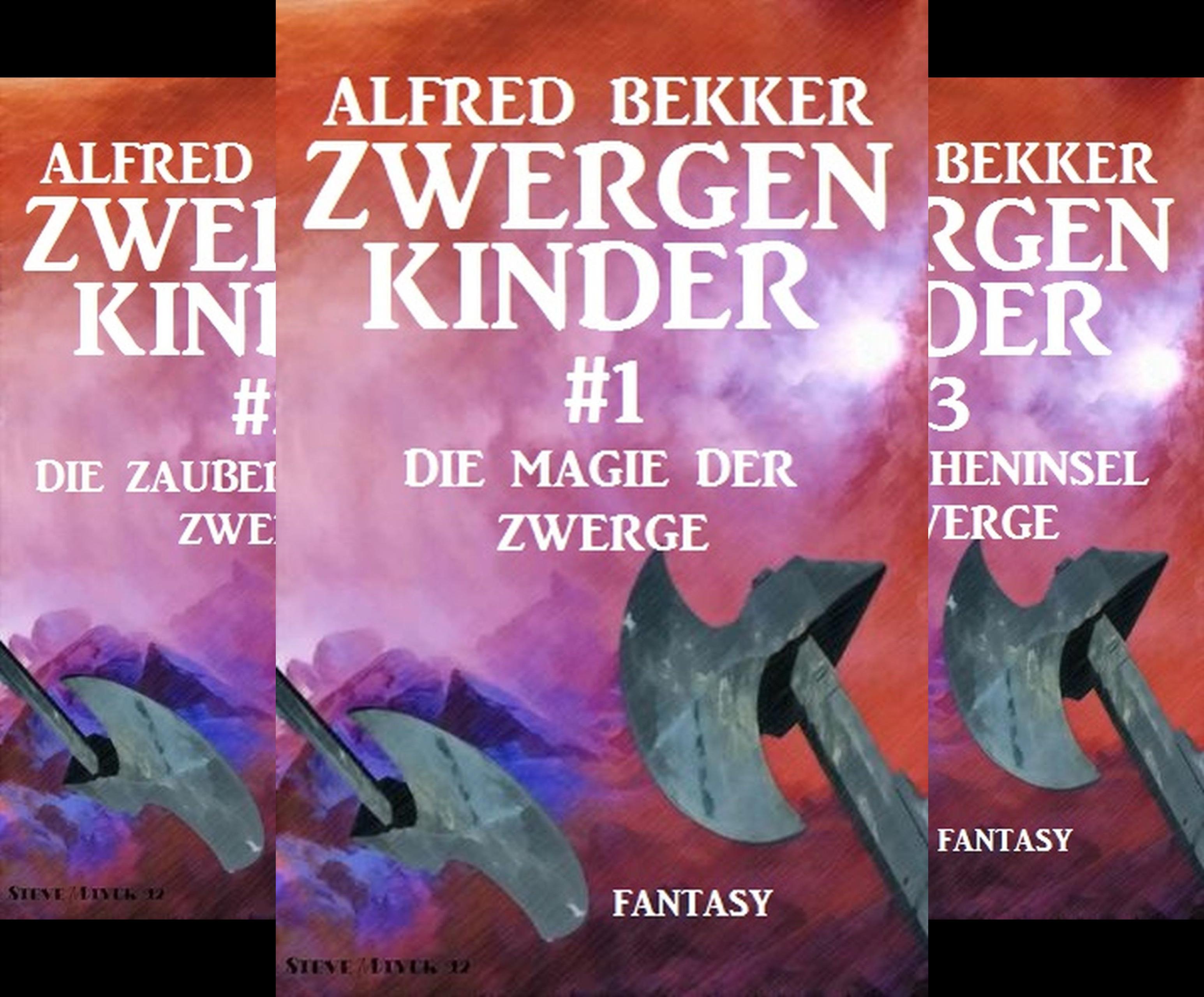 Zwergenkinder (Reihe in 4 Bänden)