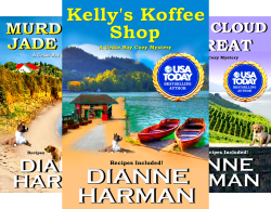 Cedar Bay Cozy Mystery Series 14 Book By Dianne Harman