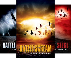 The Battle Series (4 Book Series) by  Mark Romang