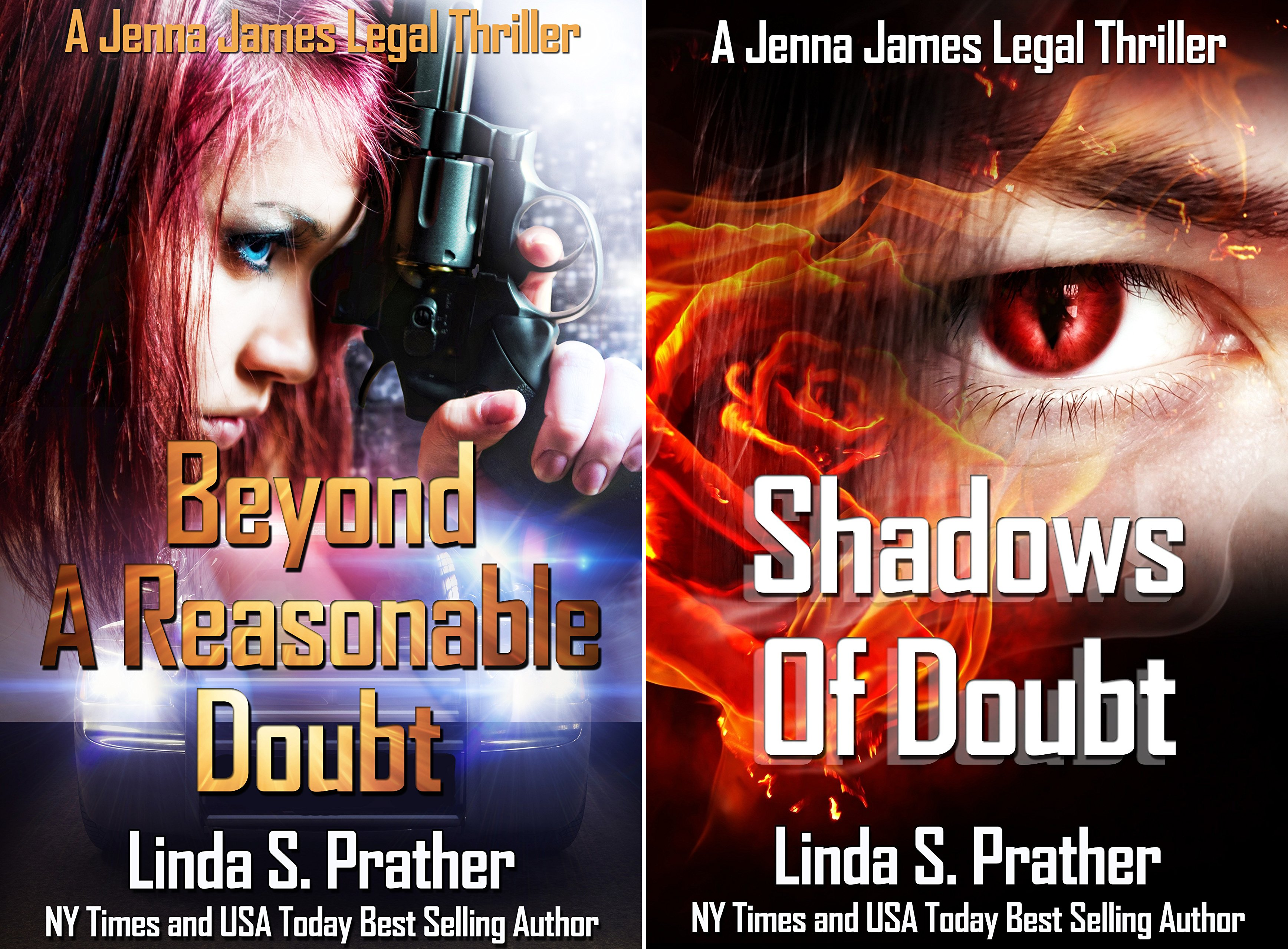 Jenna James Legal Thriller (2 Book Series)