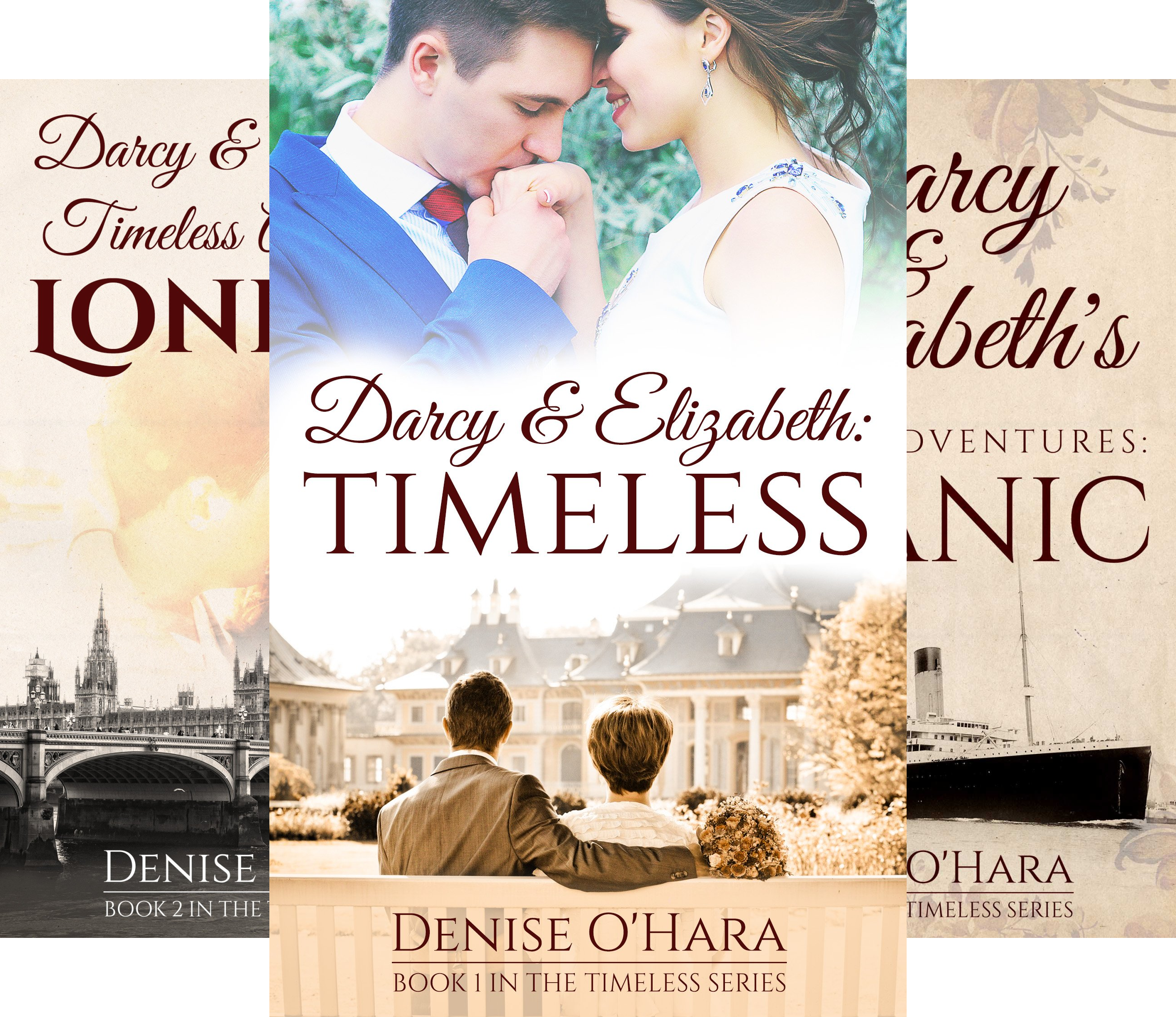 Darcy and Elizabeth: Timeless (3 Book Series) ()