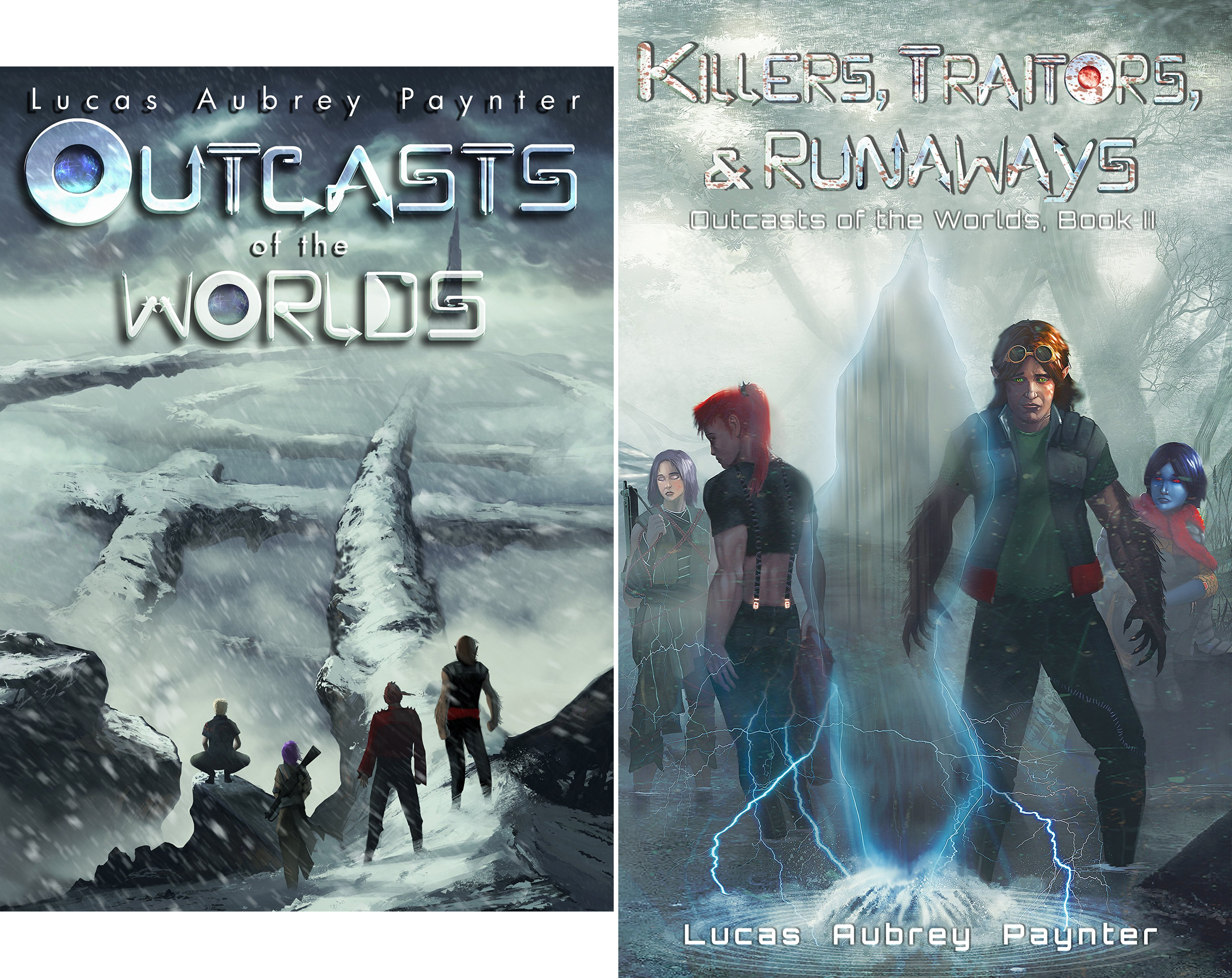Outcasts of the Worlds (2 Book Series)