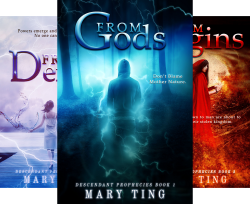Descendant Prophecies (4 Book Series) by  Mary Ting