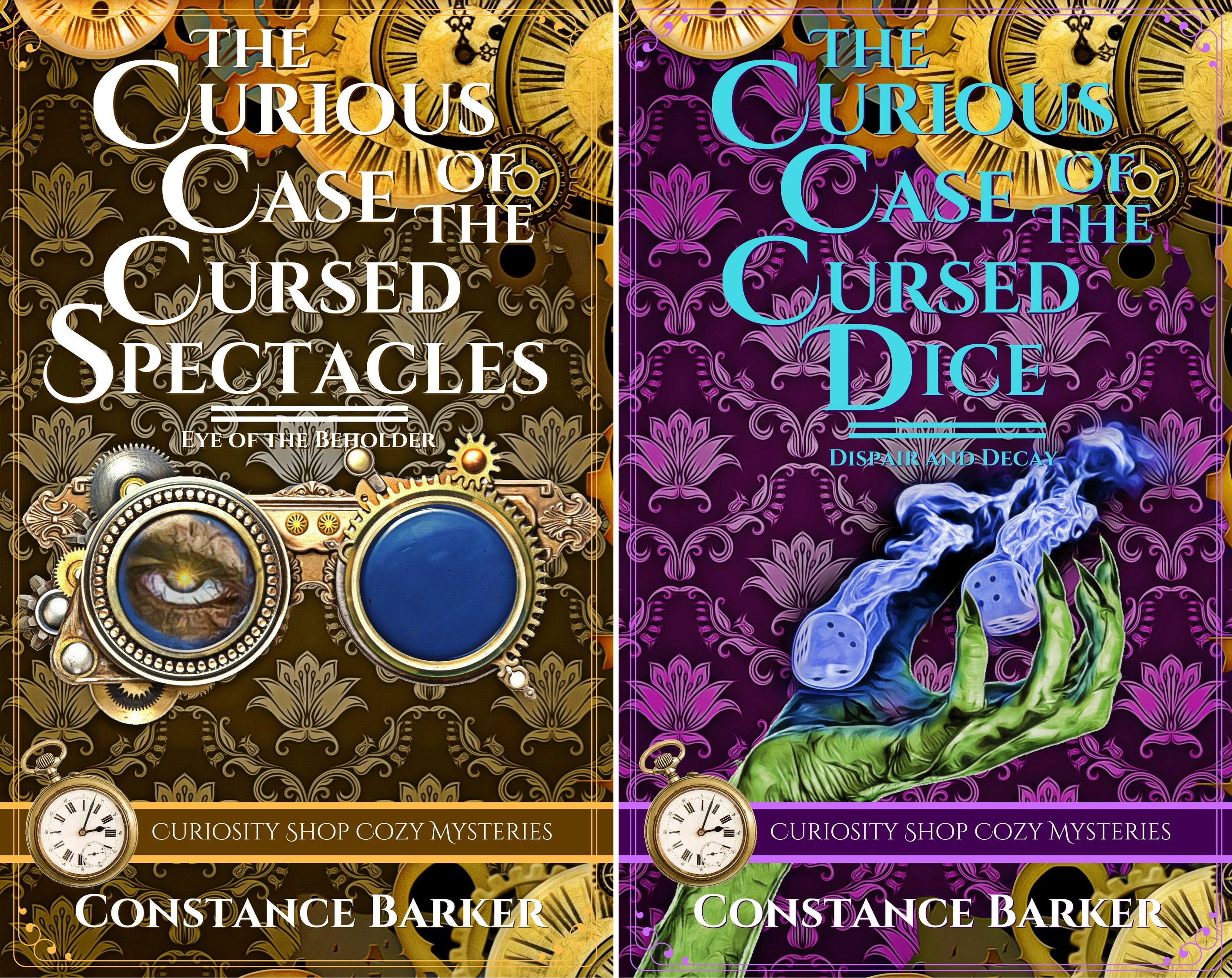 Curiosity Shop Cozy Mysteries (2 Book Series)