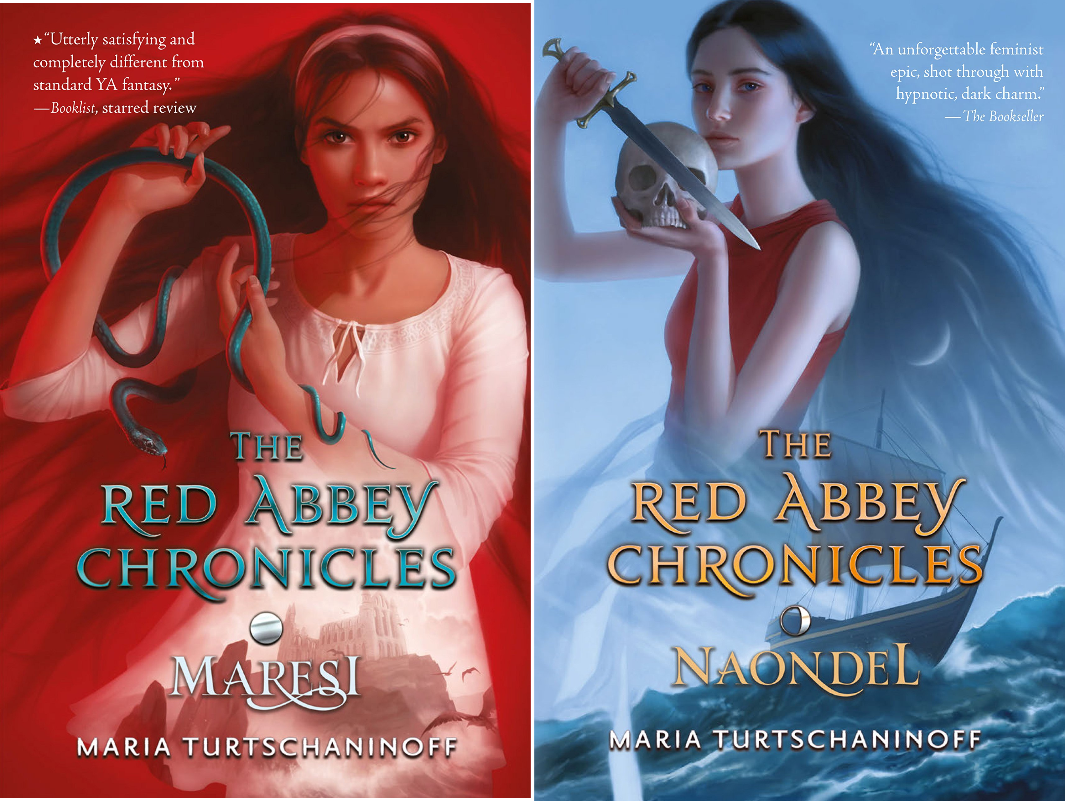 The Red Abbey Chronicles (2 Book Series)