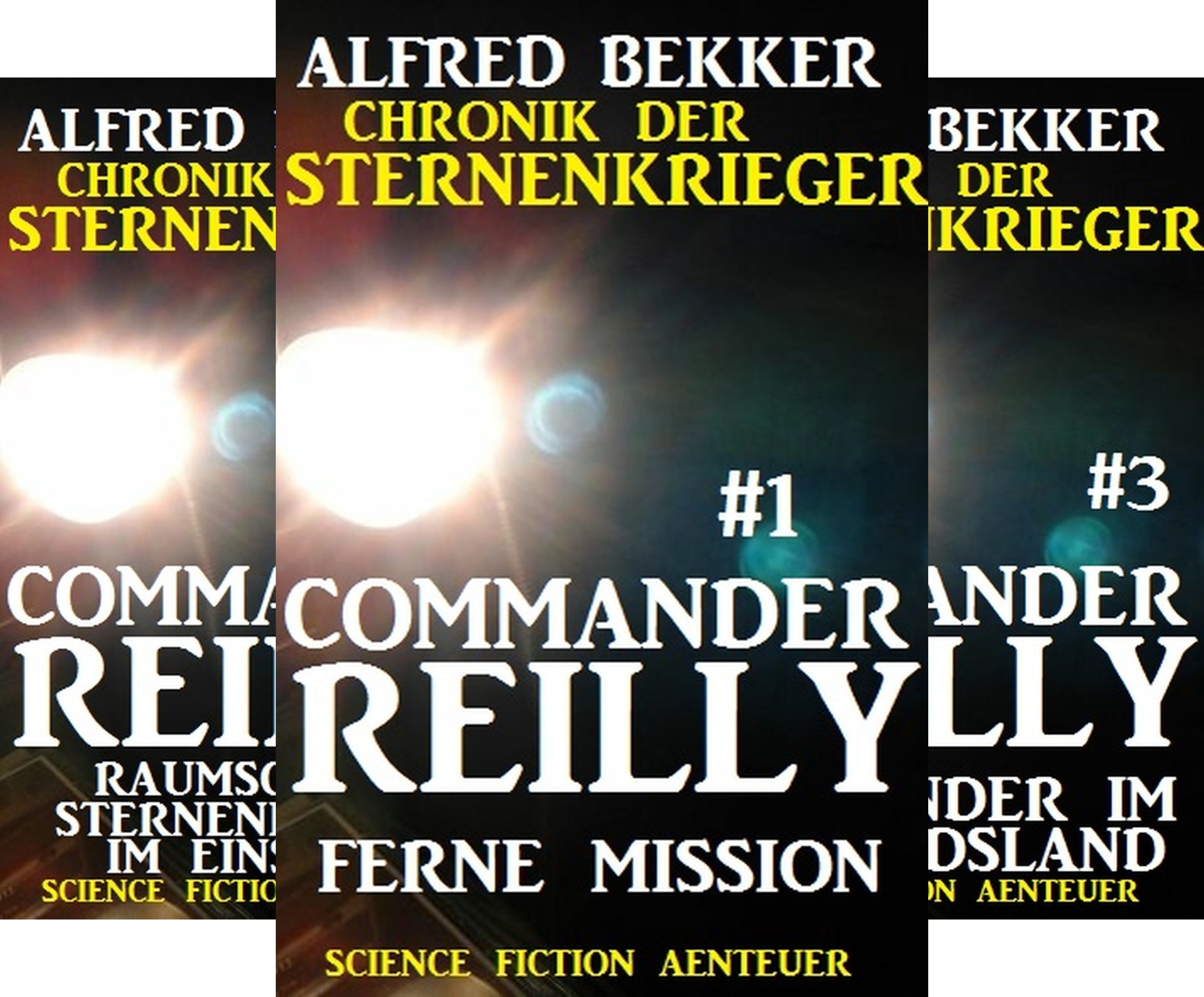 Commander Reilly (Reihe in 20 Bänden)