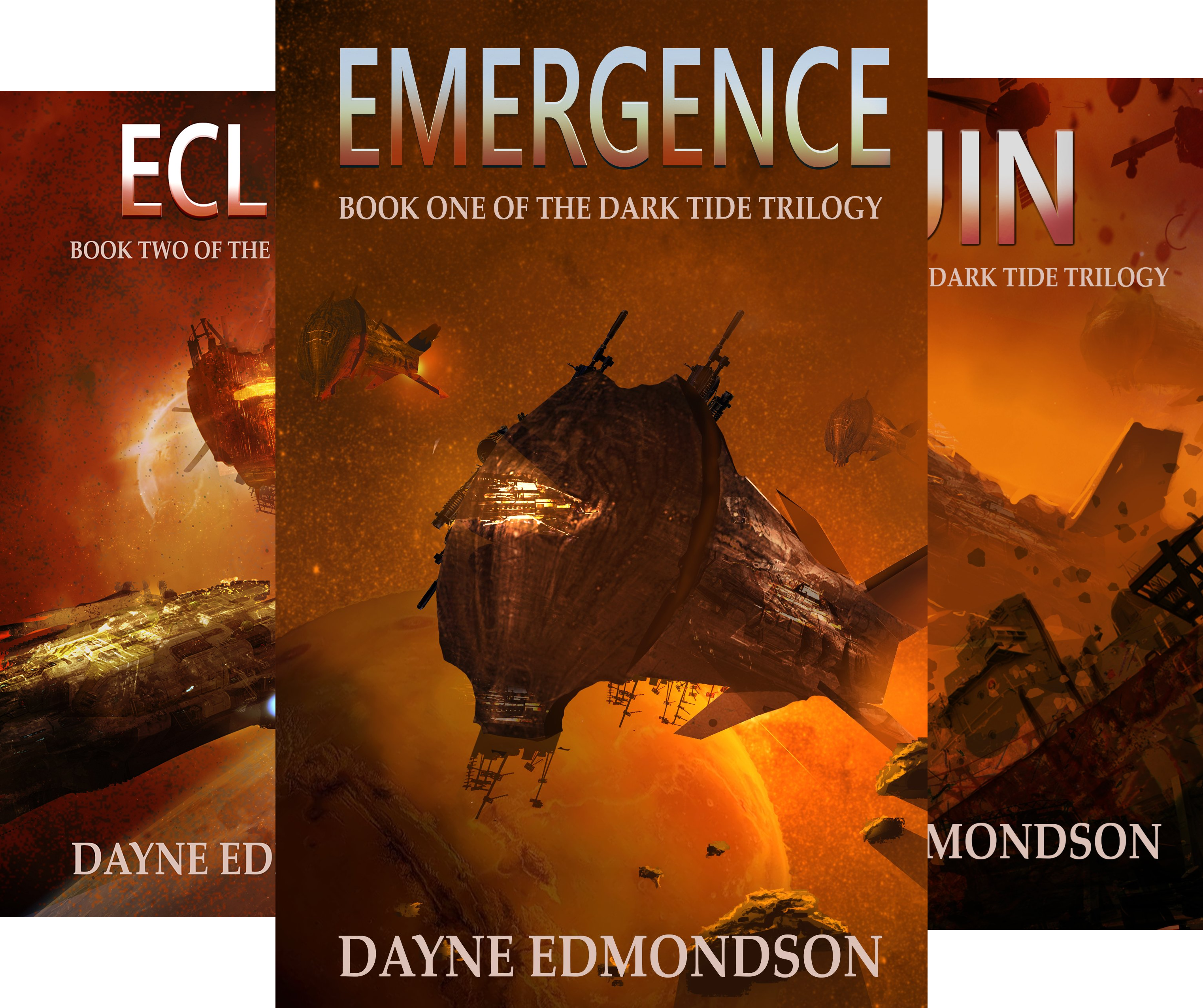 Dark Tide Trilogy (3 Book Series)
