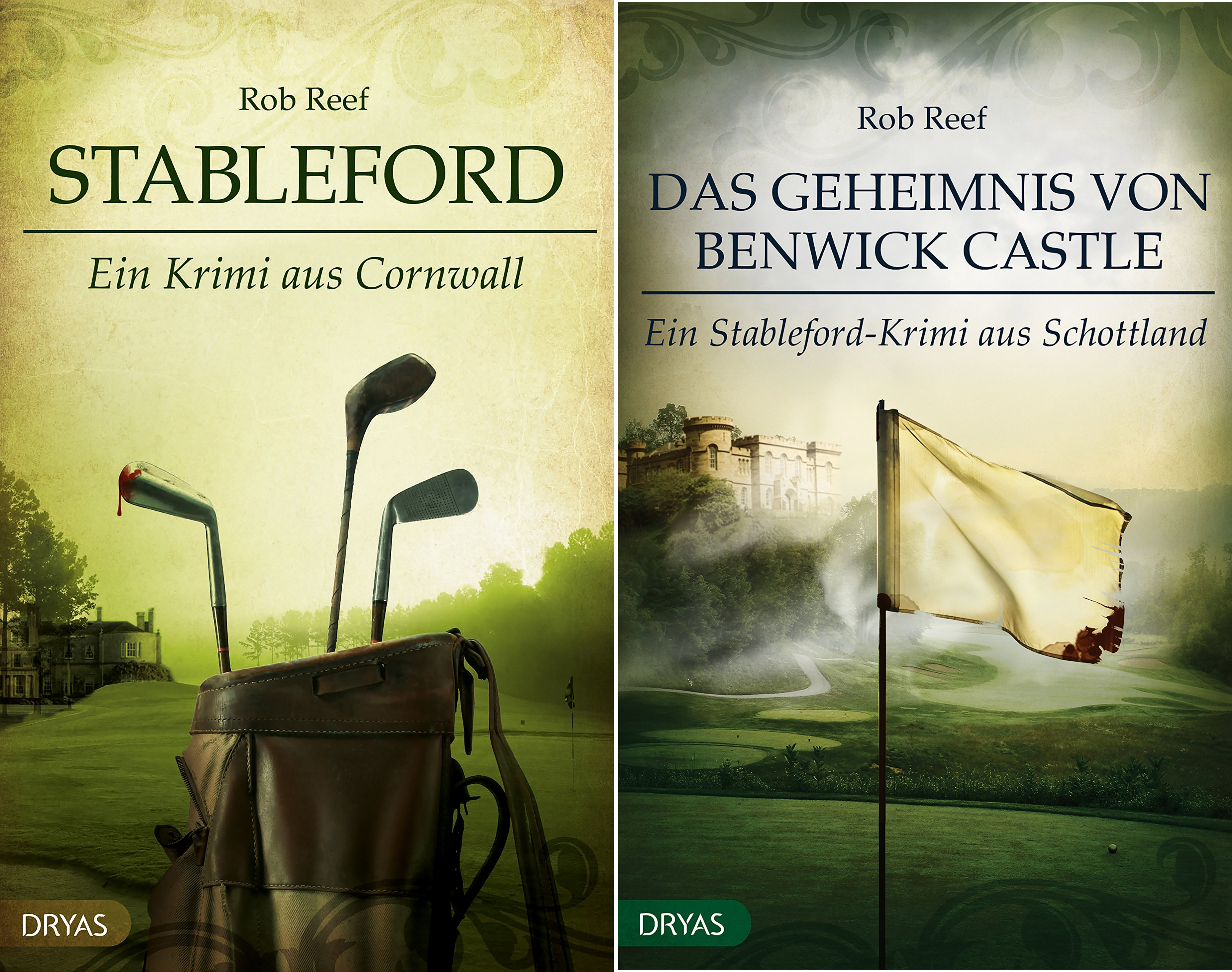 Ein Stableford-Krimi (Reihe in 2 Bänden)