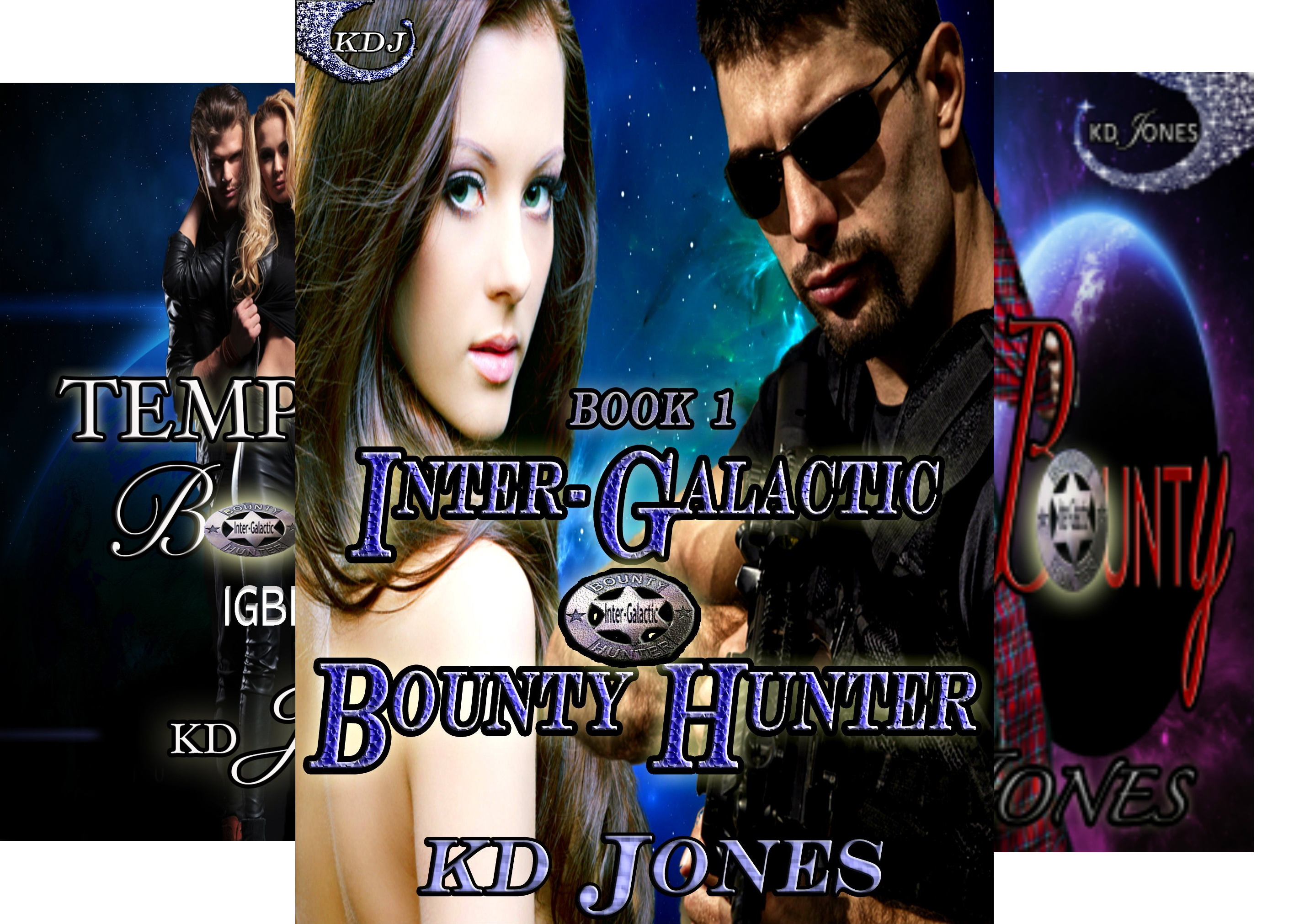 Inter-Galactic Bounty Hunters (4 Book Series)