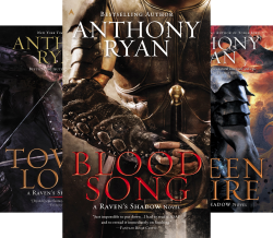 A Raven's Shadow Novel (3 Book Series) by  Anthony Ryan