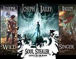 Legacy of the Blade (3 Book Series) by  Joseph J Bailey Joseph J. Bailey
