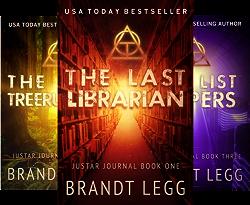 The Justar Journal (3 Book Series) by  Brandt Legg