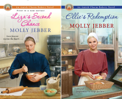 The Amish Charm Bakery (2 Book Series) by  Molly Jebber