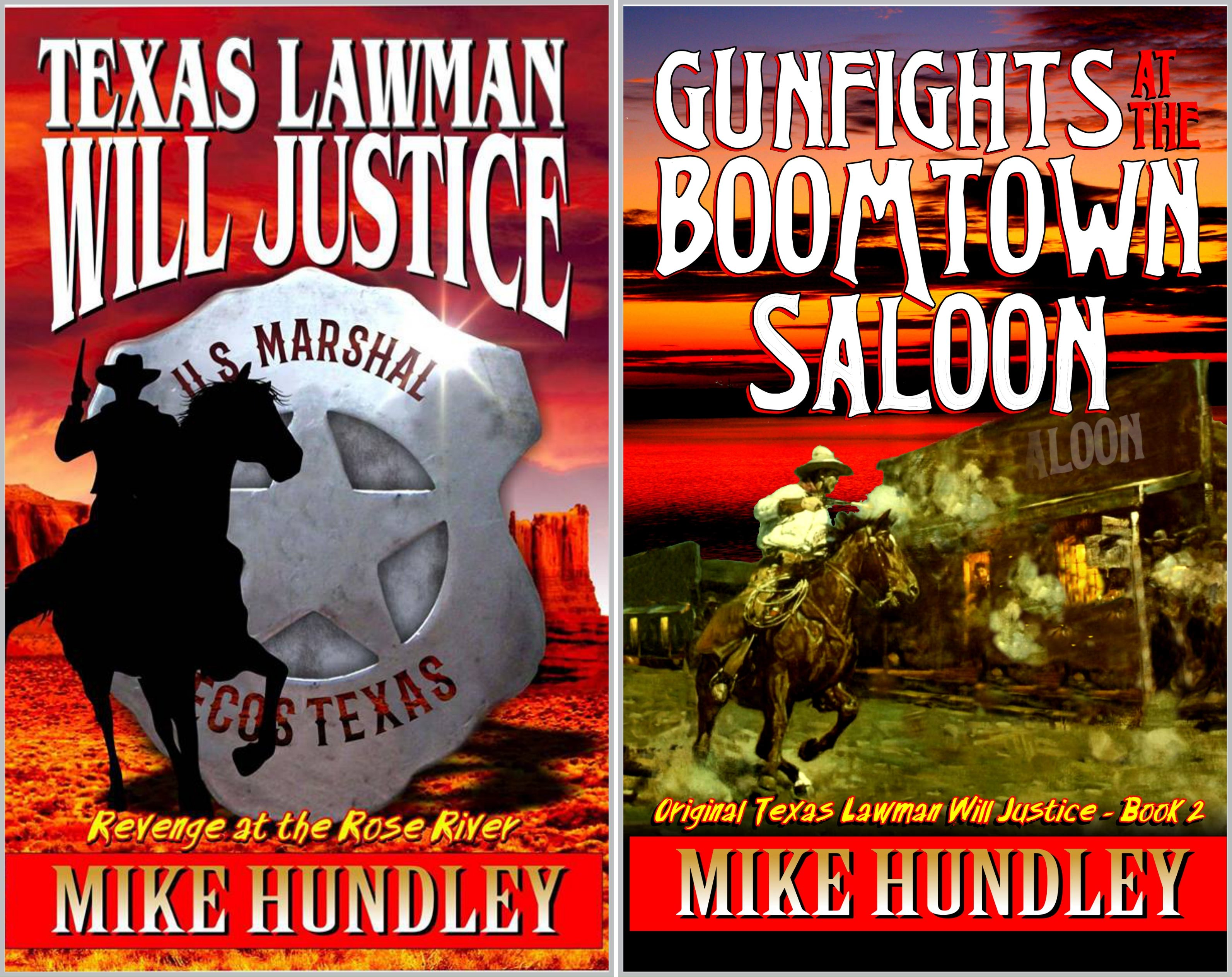 The Original Texas Lawman Will Justice Western Series (2 Book Series)