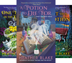 A Magic Potion Mystery (3 Book Series) by  Heather Blake