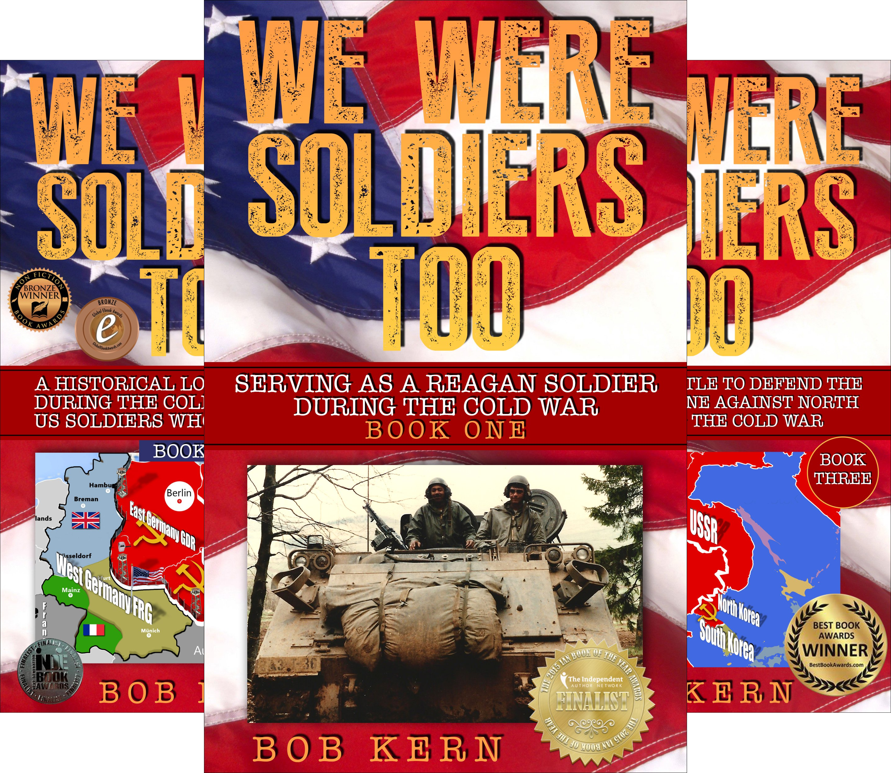 We Were Soldiers Too (5 Book Series)