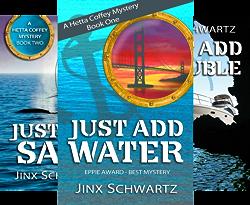 Hetta Coffey Series (7 Book Series) by  Jinx Schwartz