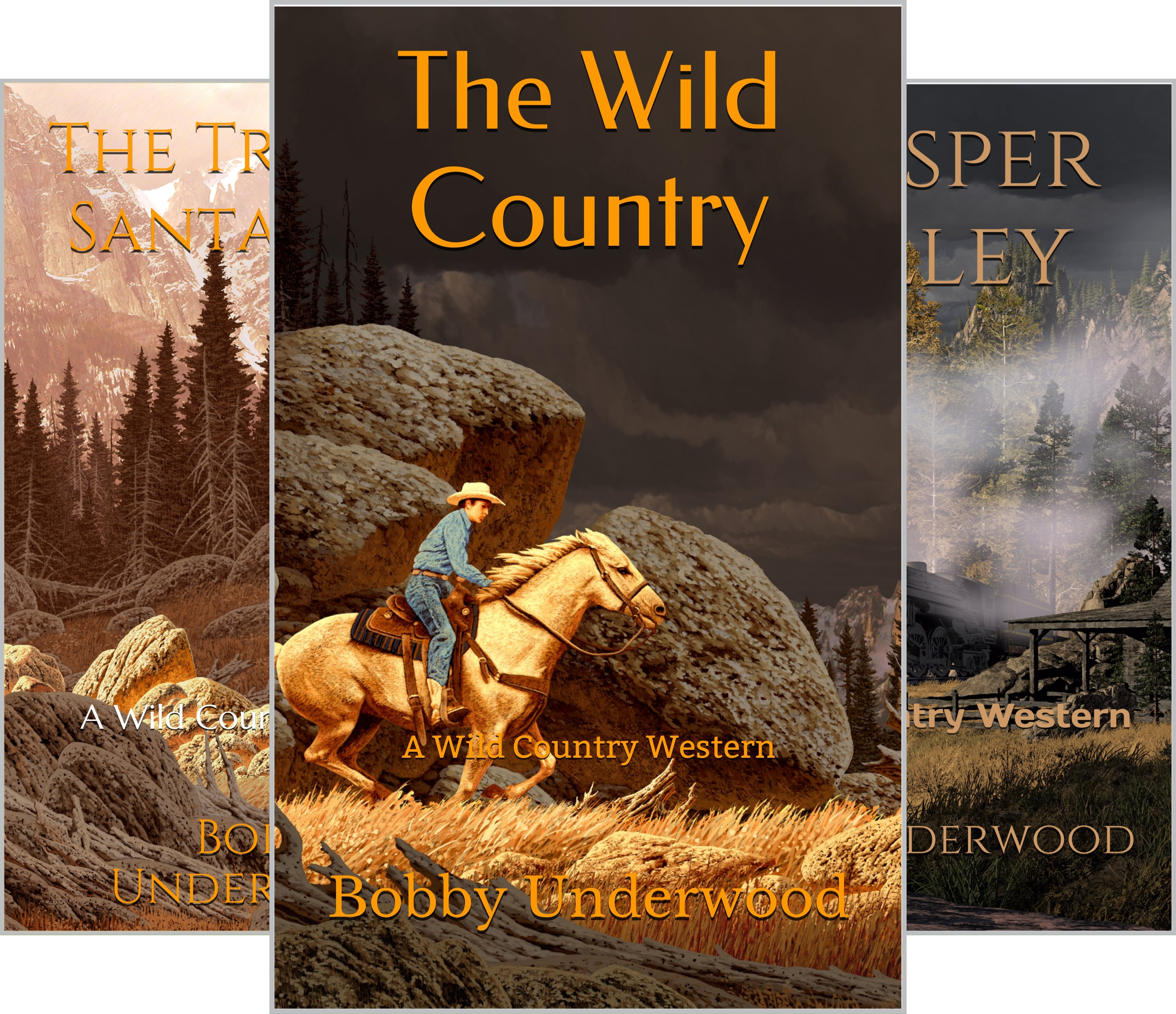 The Wild Country (3 Book Series)