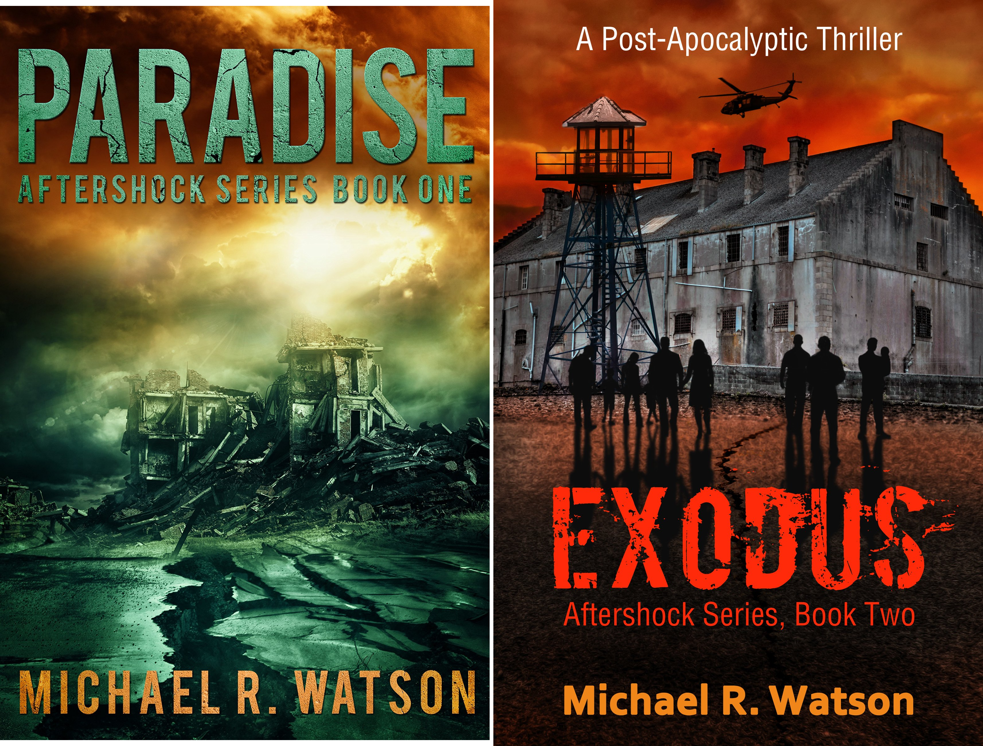 Aftershock Series (2 Book Series)