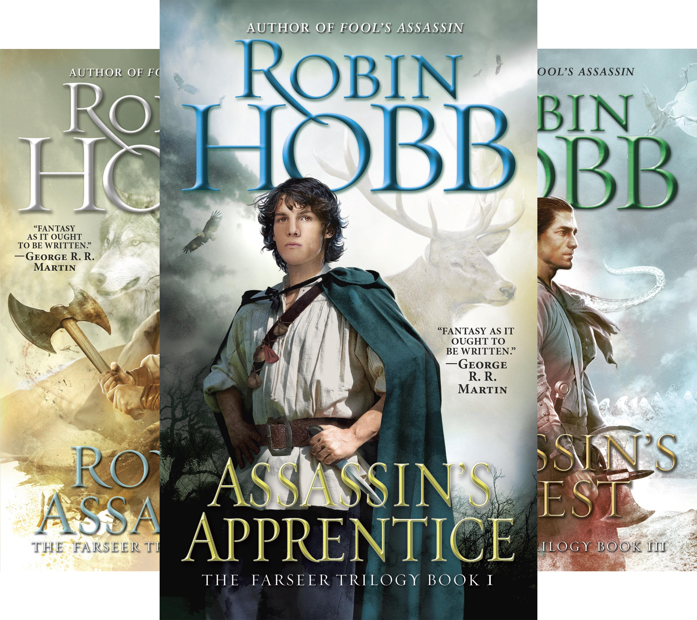 The Farseer Trilogy (3 Book Series)
