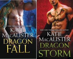 Dragon Fall (2 Book Series) by  Katie MacAlister