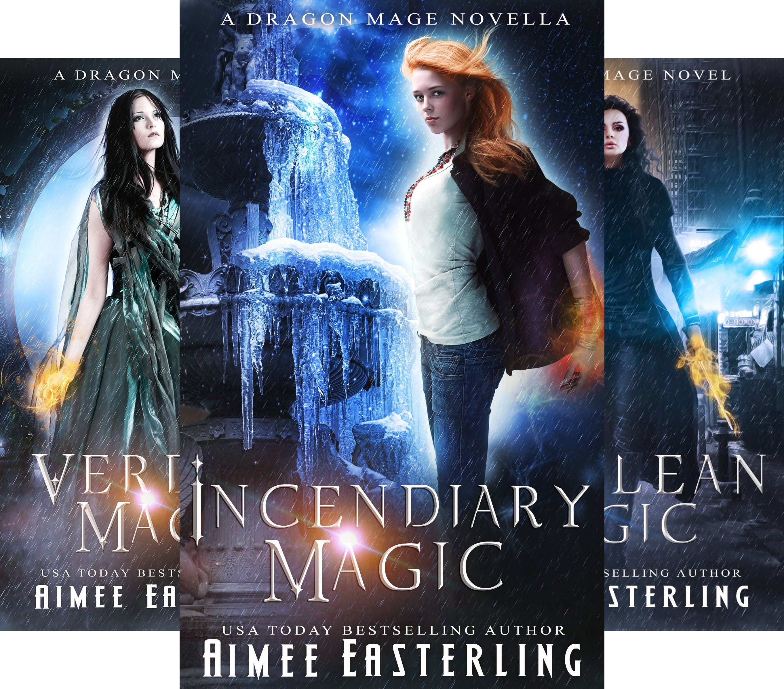 Dragon Mage Chronicles (3 Book Series)