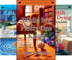 Black Sheep Knitting Mysteries (8 Book Series) by  Anne Canadeo