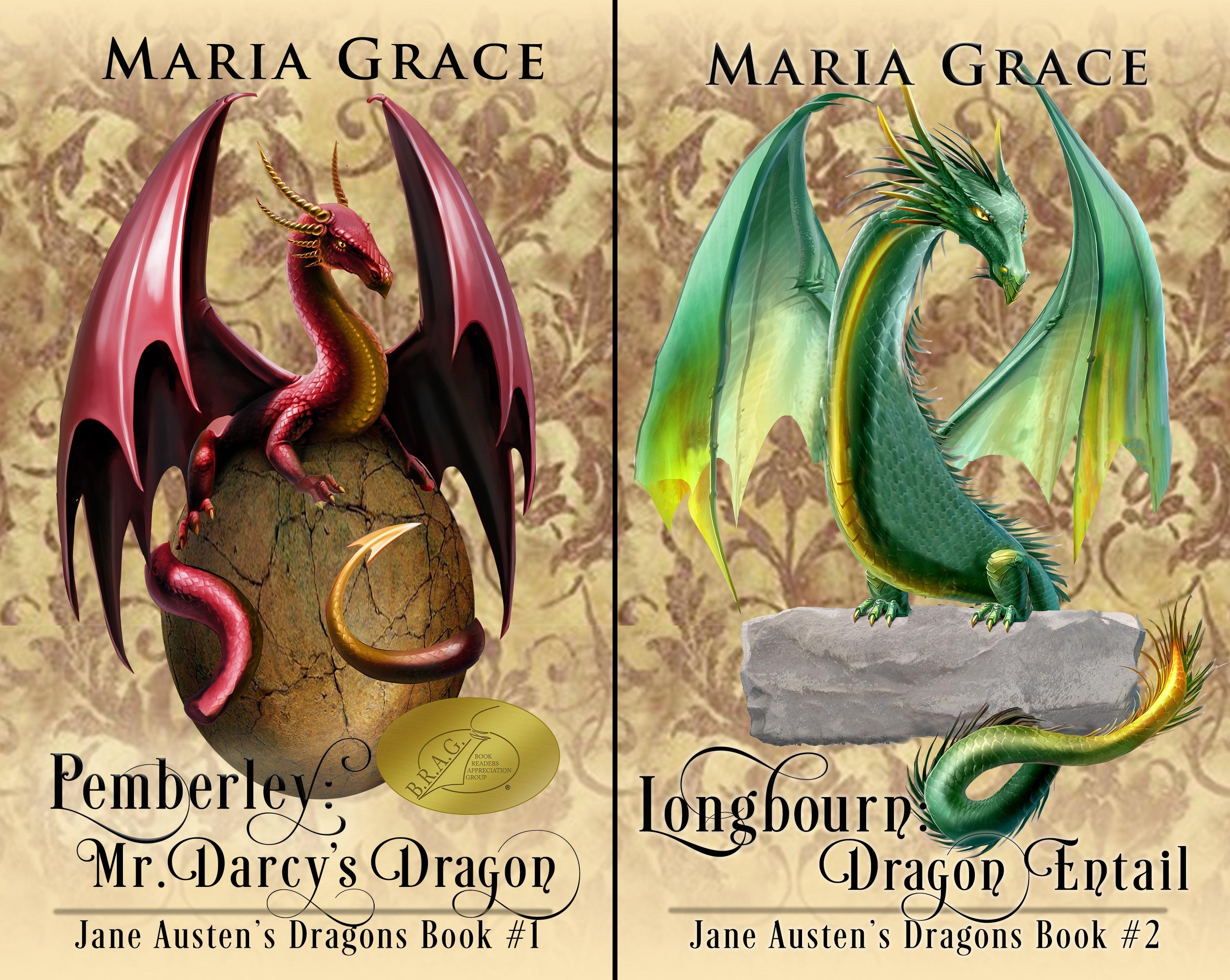 Jane Austen's Dragons (2 Book Series)