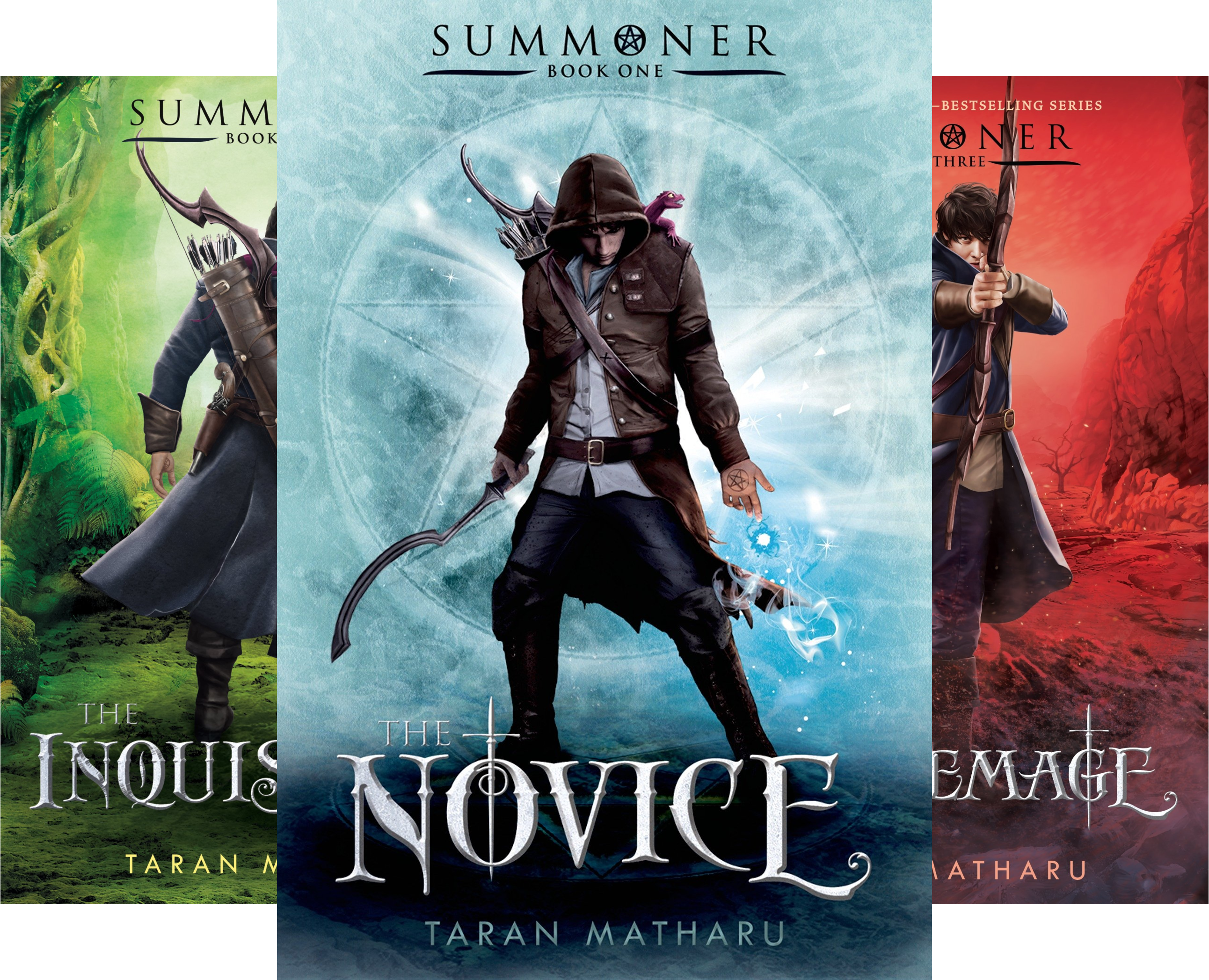 The Summoner Trilogy (3 Book Series)