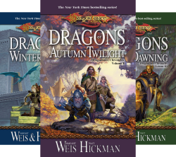 Dragonlance Chronicles (4 Book Series) by  Margaret Weis Tracy Hickman