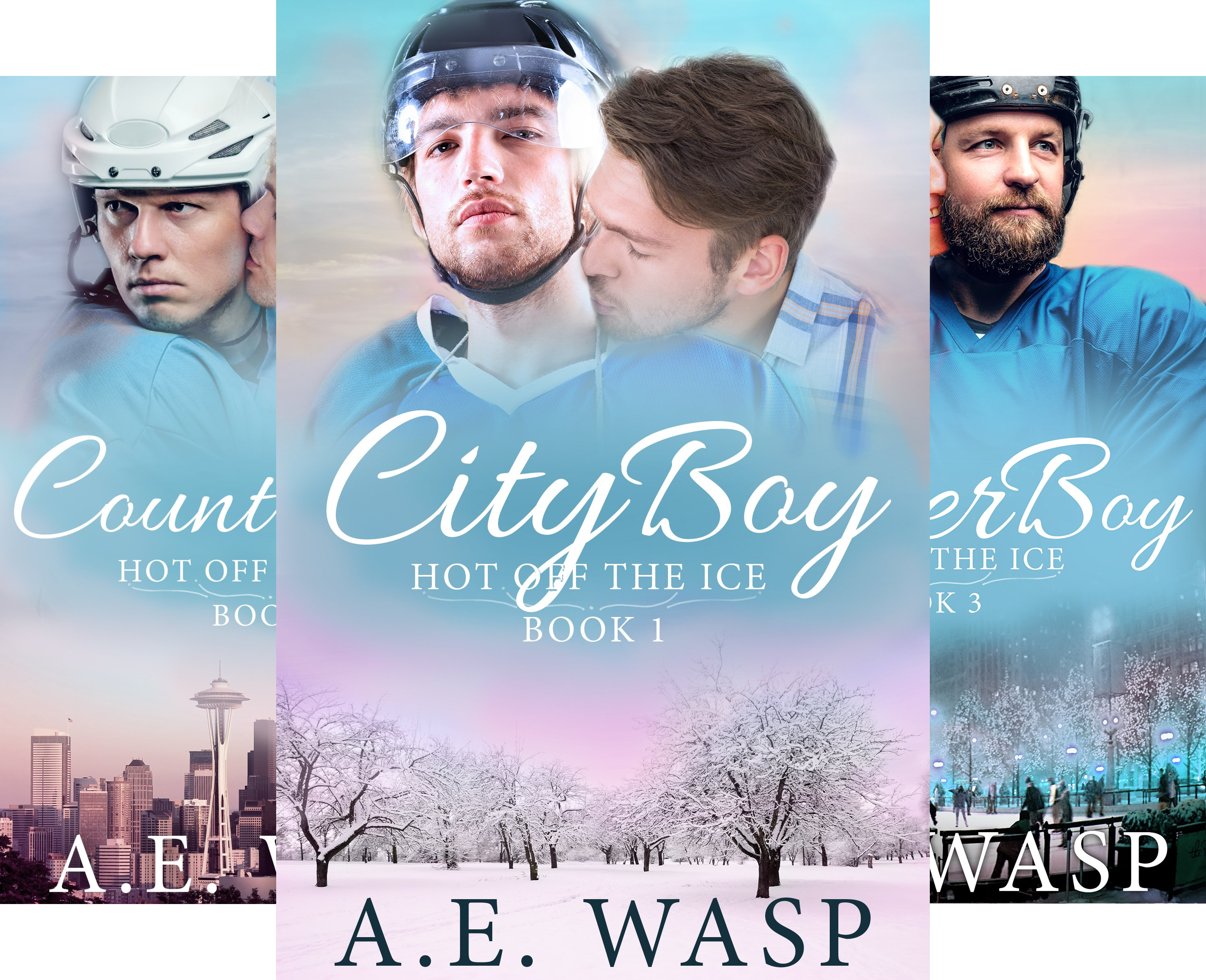 Hot Off the Ice (3 Book Series)