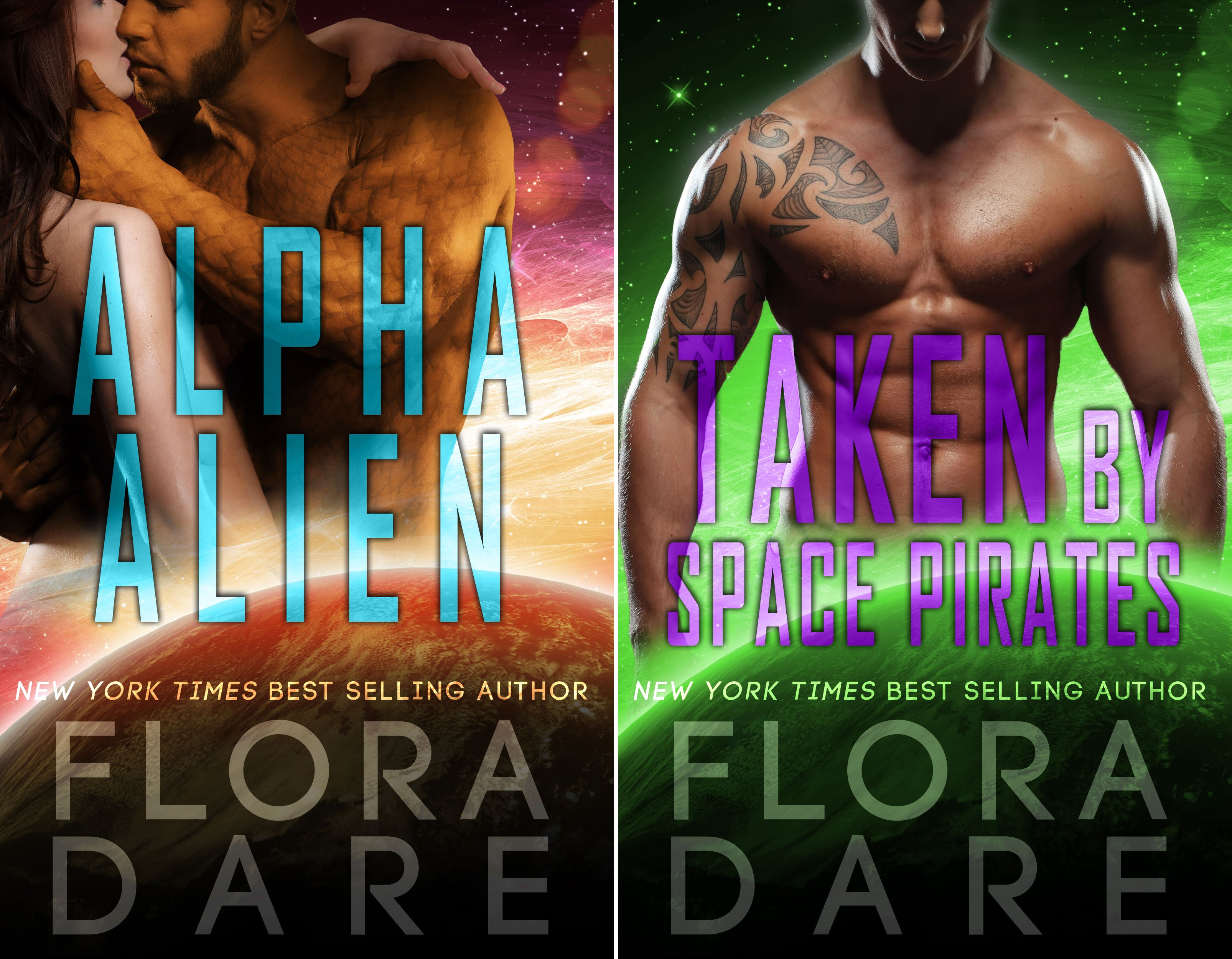 Bound to the Alien (2 Book Series)