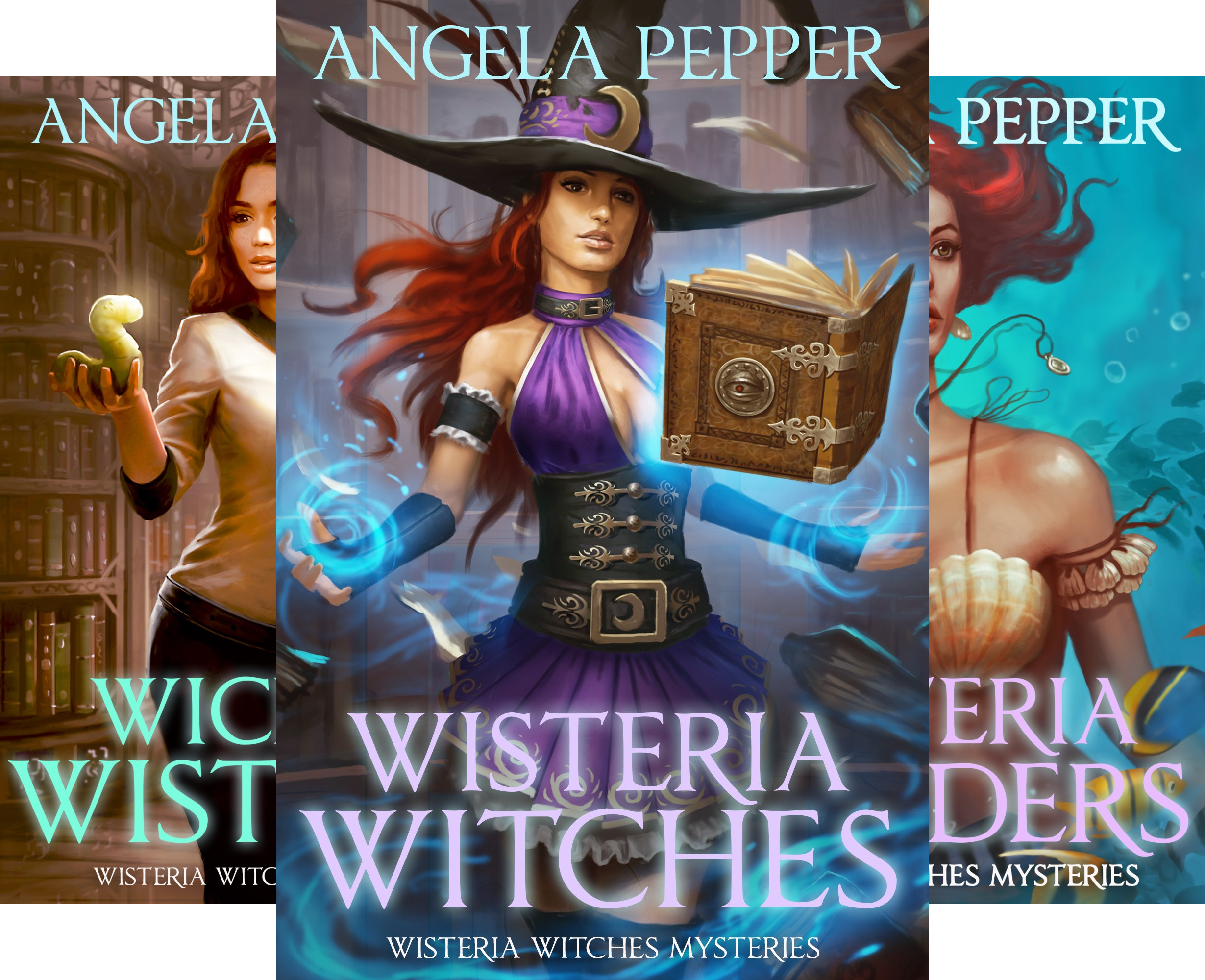 Wisteria Witches Mysteries (4 Book Series)
