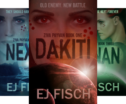 #freebooks – Sci-fi thrillers: all 3 books in the Ziva Payvan series are FREE for Kindle May 29-31