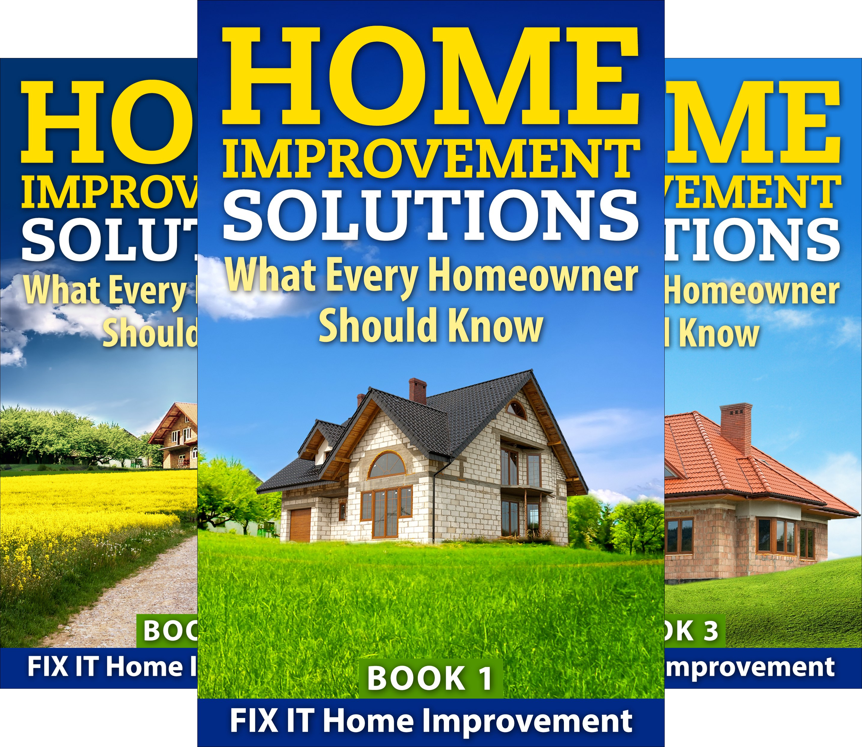 Home Improvement Solutions (3 Book Series)