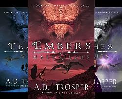 Dragon's Call Series (3 Book Series) by  A.D. Trosper