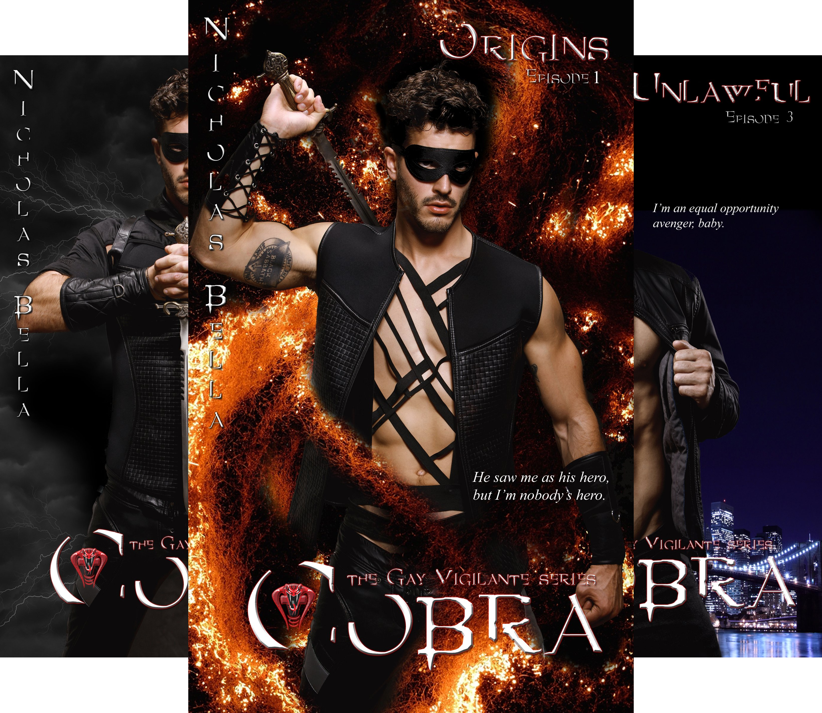 Cobra: The Gay Vigilante Series (4 Book Series)