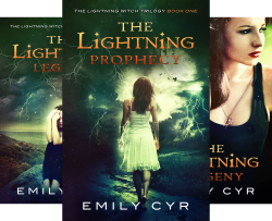 The Lightning Witch Trilogy (3 Book Series) by  Emily Cyr